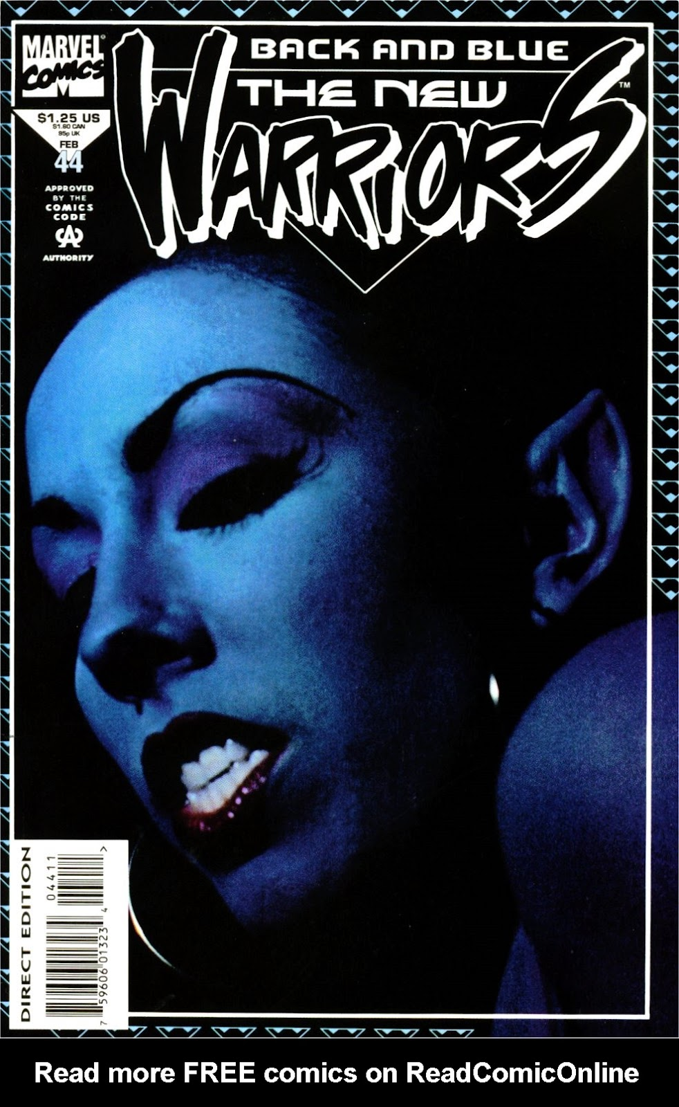 The New Warriors Issue #44 #48 - English 1