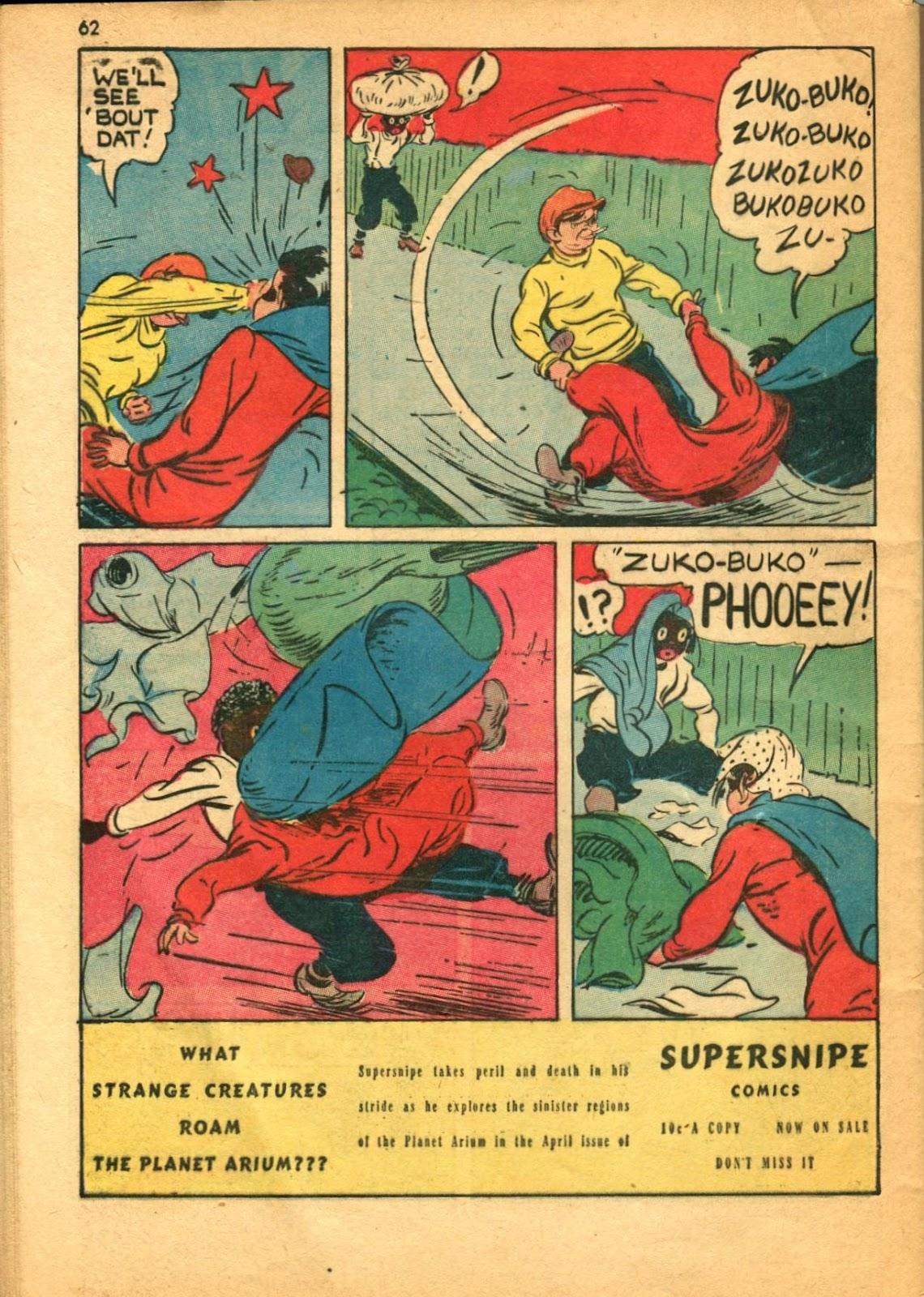 Read online Super-Magician Comics comic -  Issue #11 - 62