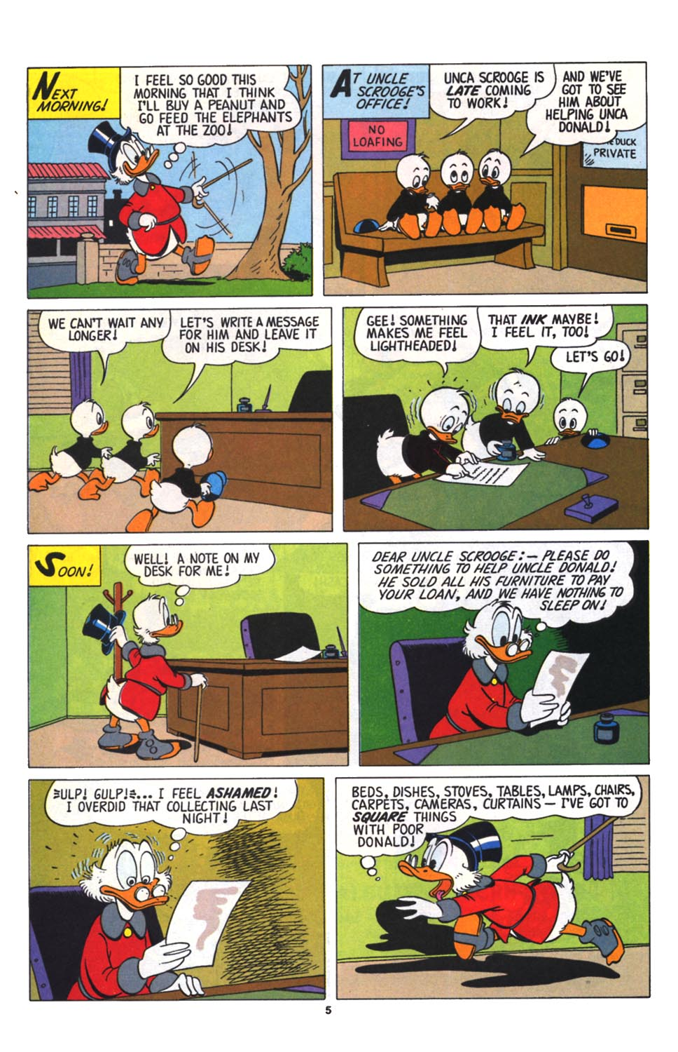 Read online Uncle Scrooge (1953) comic -  Issue #256 - 27