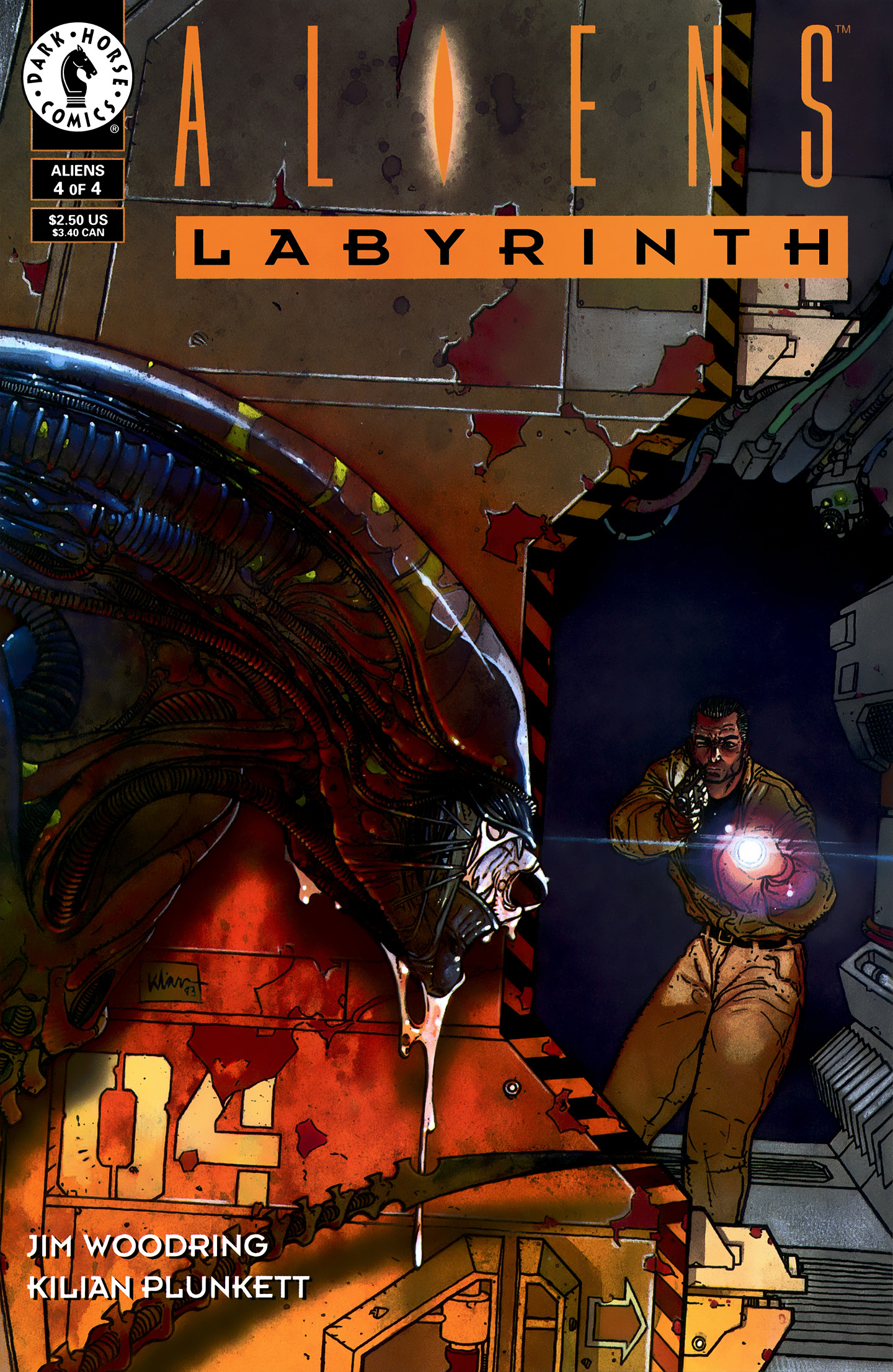 Aliens: Labyrinth 4 Page 1