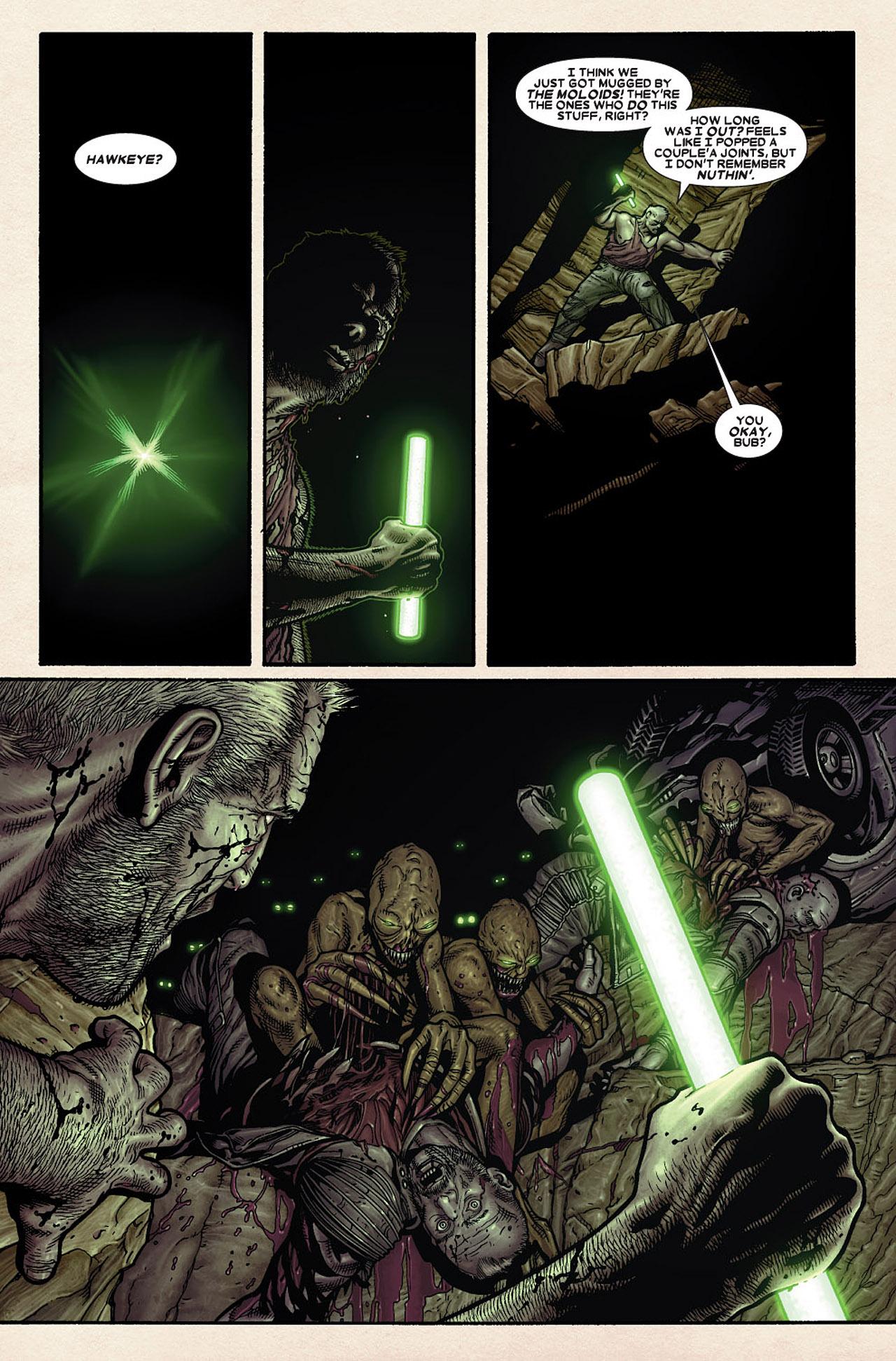 Read online Wolverine: Old Man Logan comic -  Issue # Full - 79