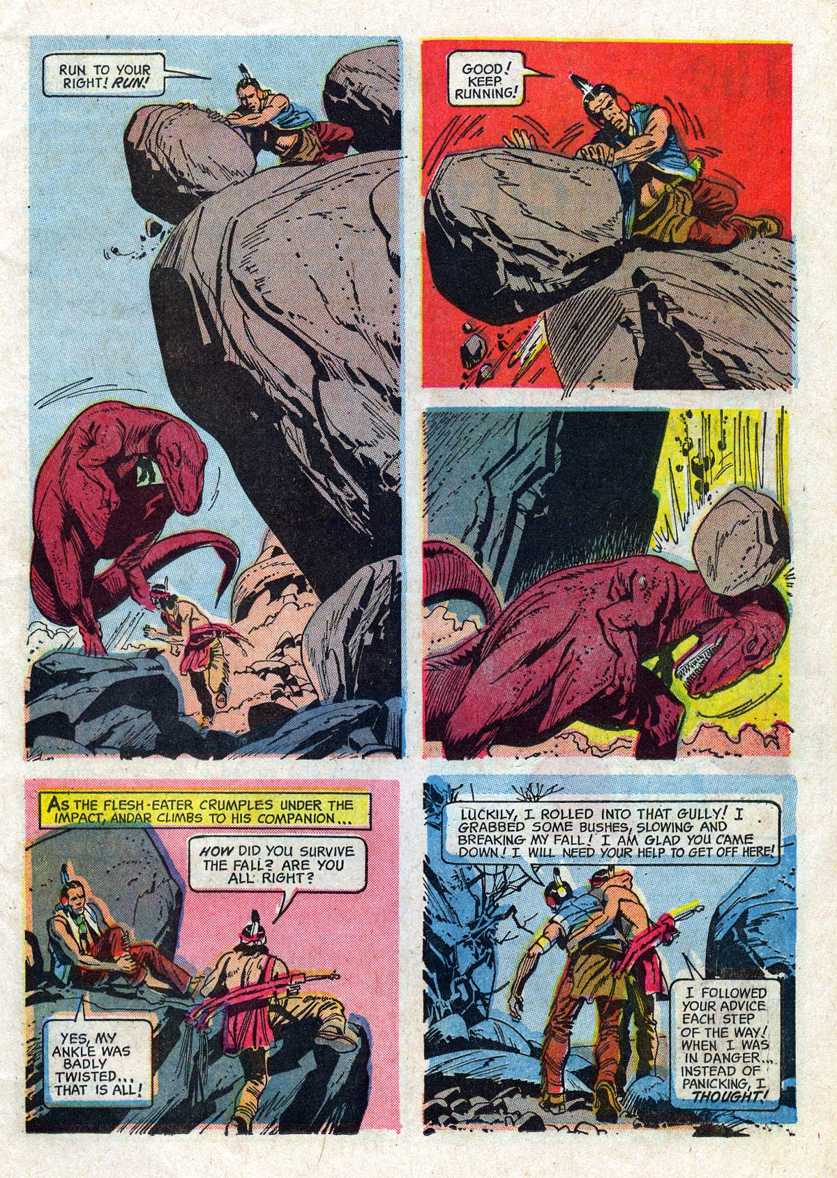 Read online Turok, Son of Stone comic -  Issue #61 - 11