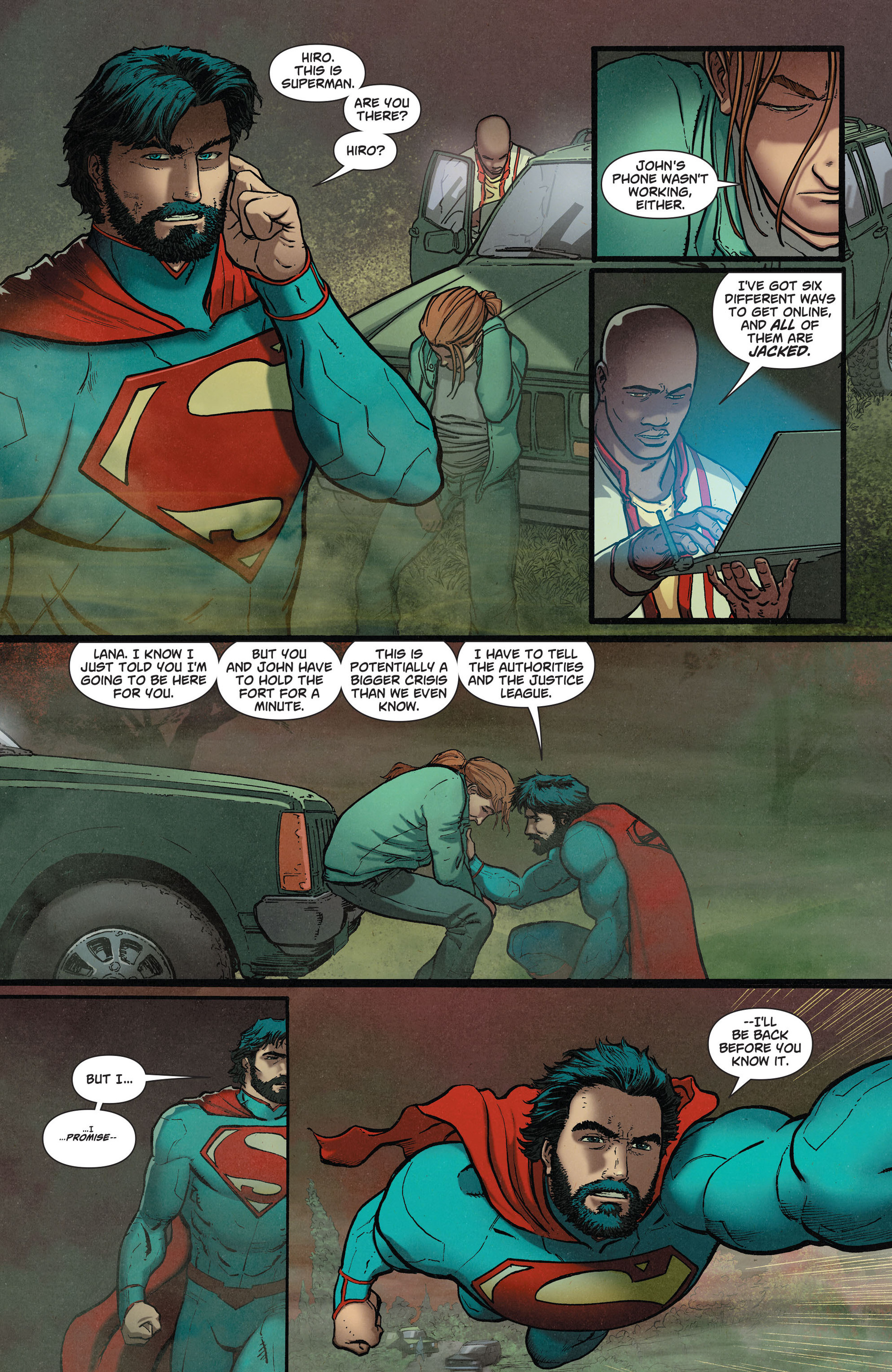 Read online Action Comics (2011) comic -  Issue #36 - 19