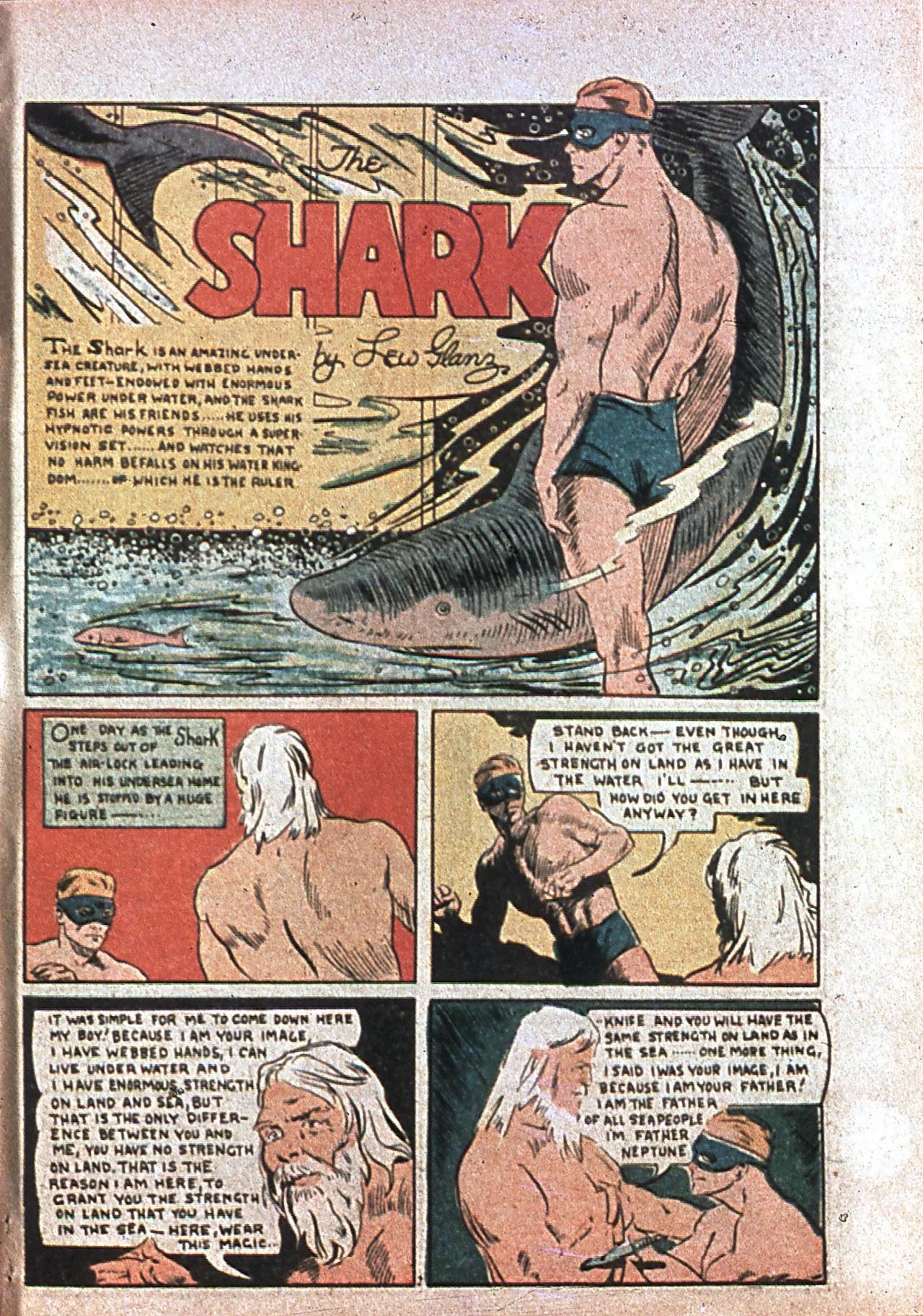 Read online Amazing Man Comics comic -  Issue #7 - 60