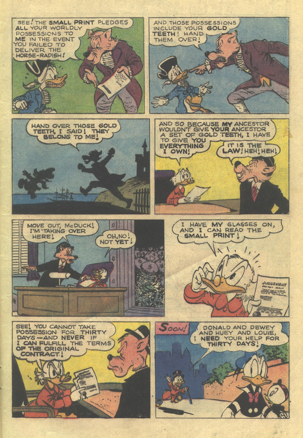 Read online Uncle Scrooge (1953) comic -  Issue #105 - 5