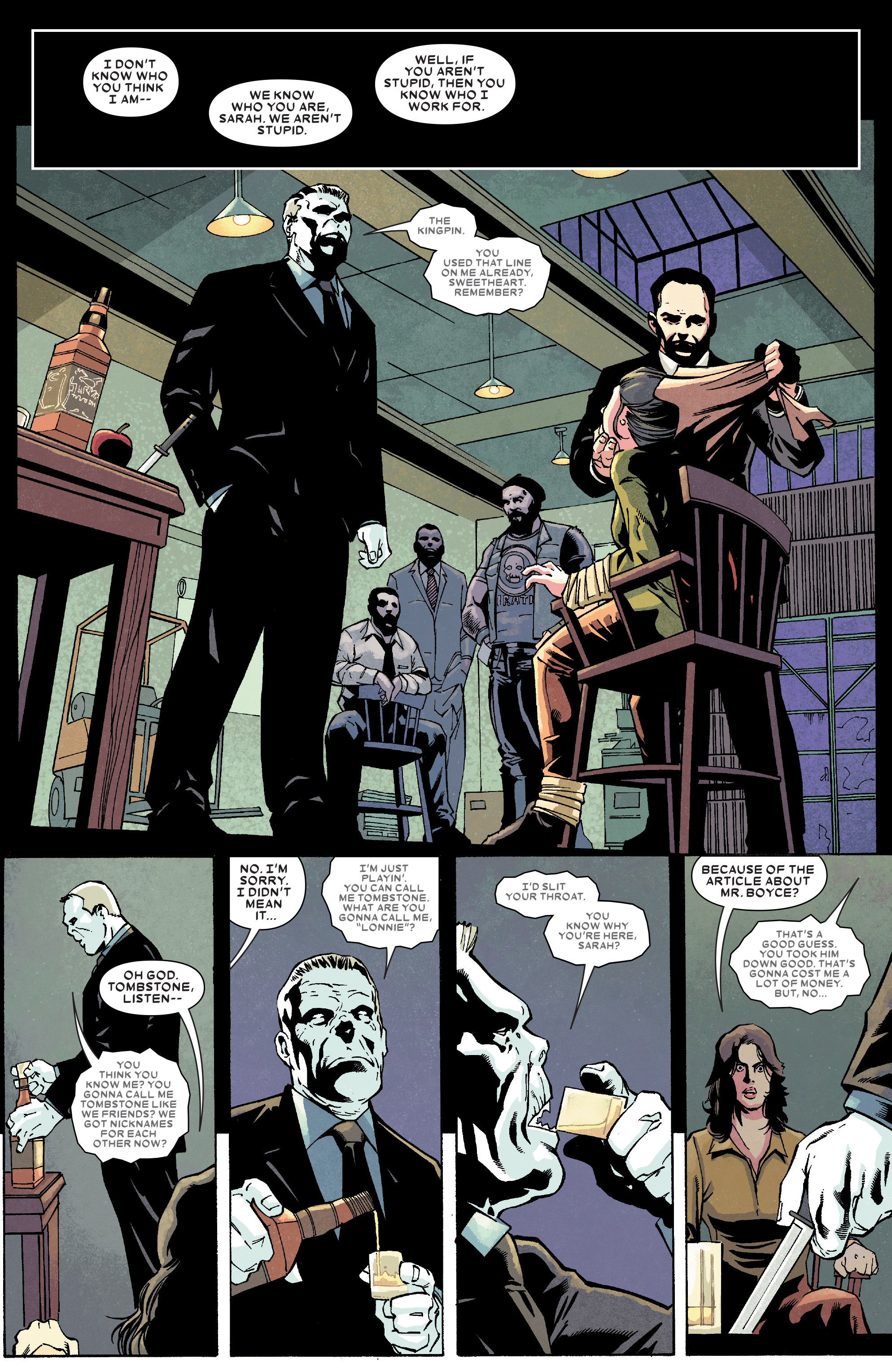Read online Kingpin (2017) comic -  Issue #4 - 15