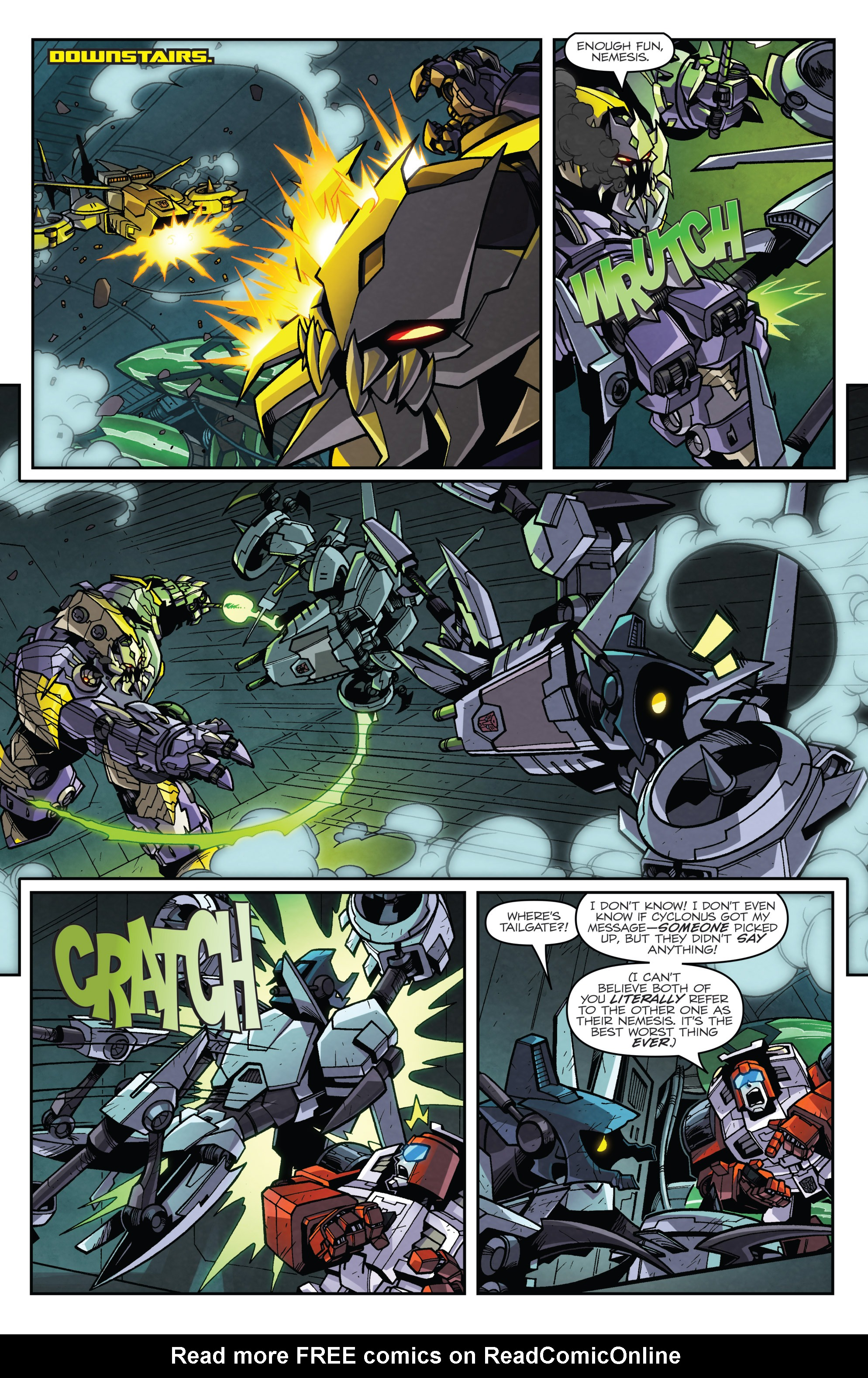 Read online Transformers: Lost Light comic -  Issue #3 - 17
