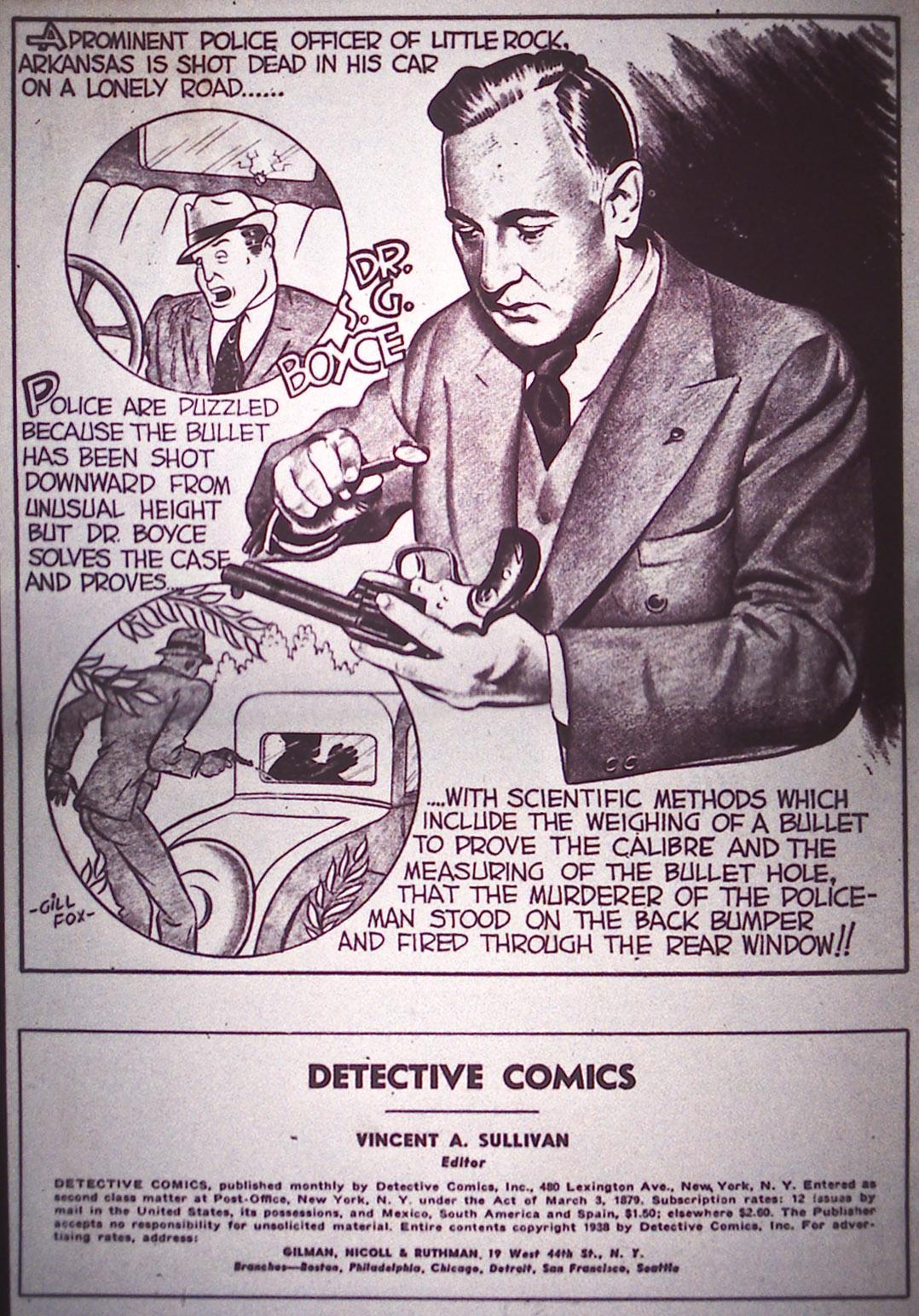 Detective Comics (1937) 14 Page 1