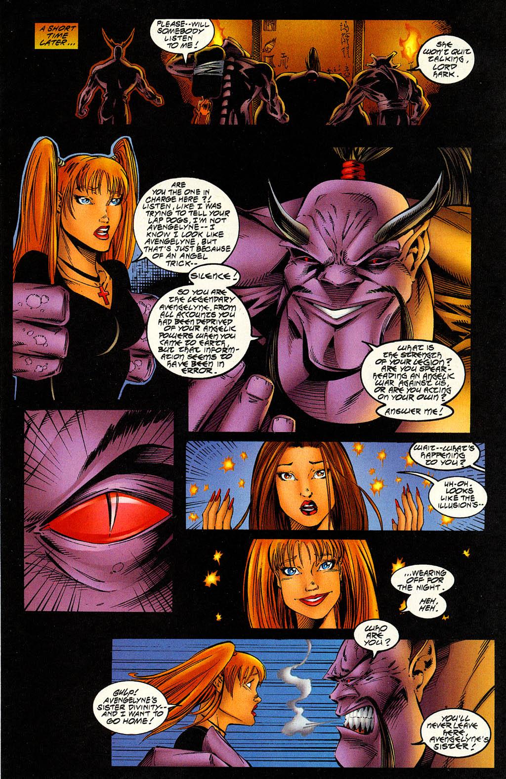 Read online Avengelyne (1996) comic -  Issue #6 - 23