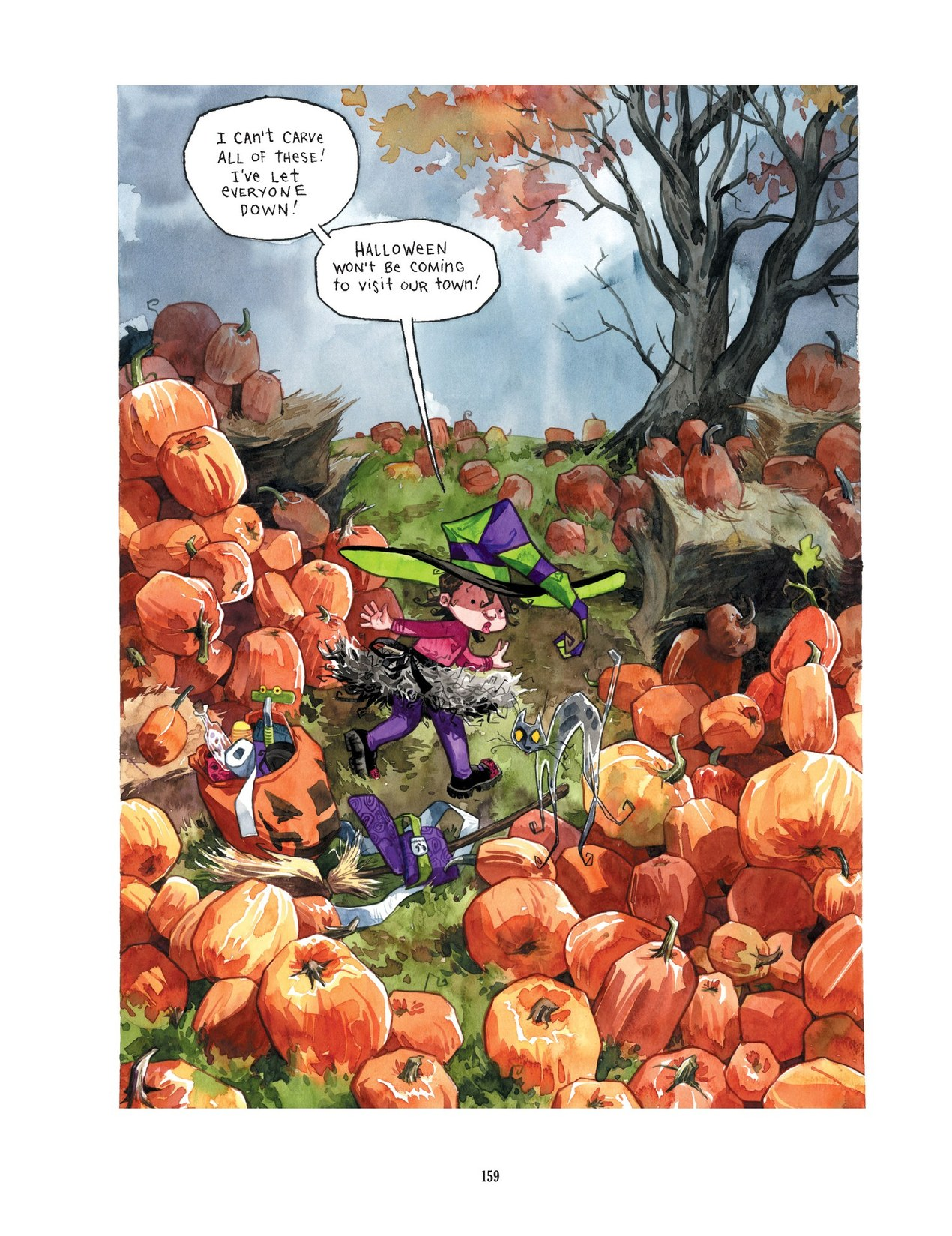 Read online Scary Godmother comic -  Issue # TPB - 159