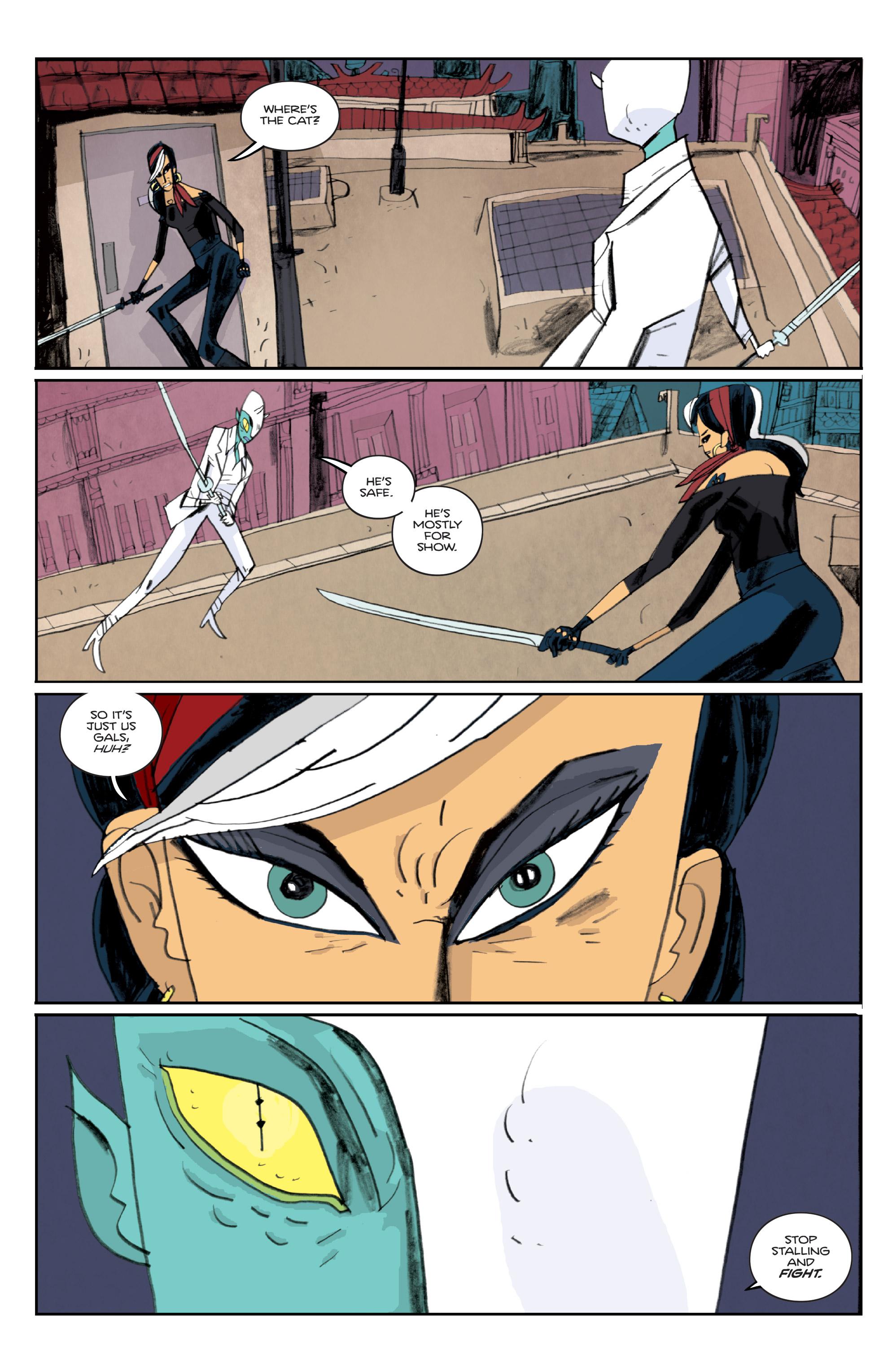 Read online Helena Crash comic -  Issue #3 - 8