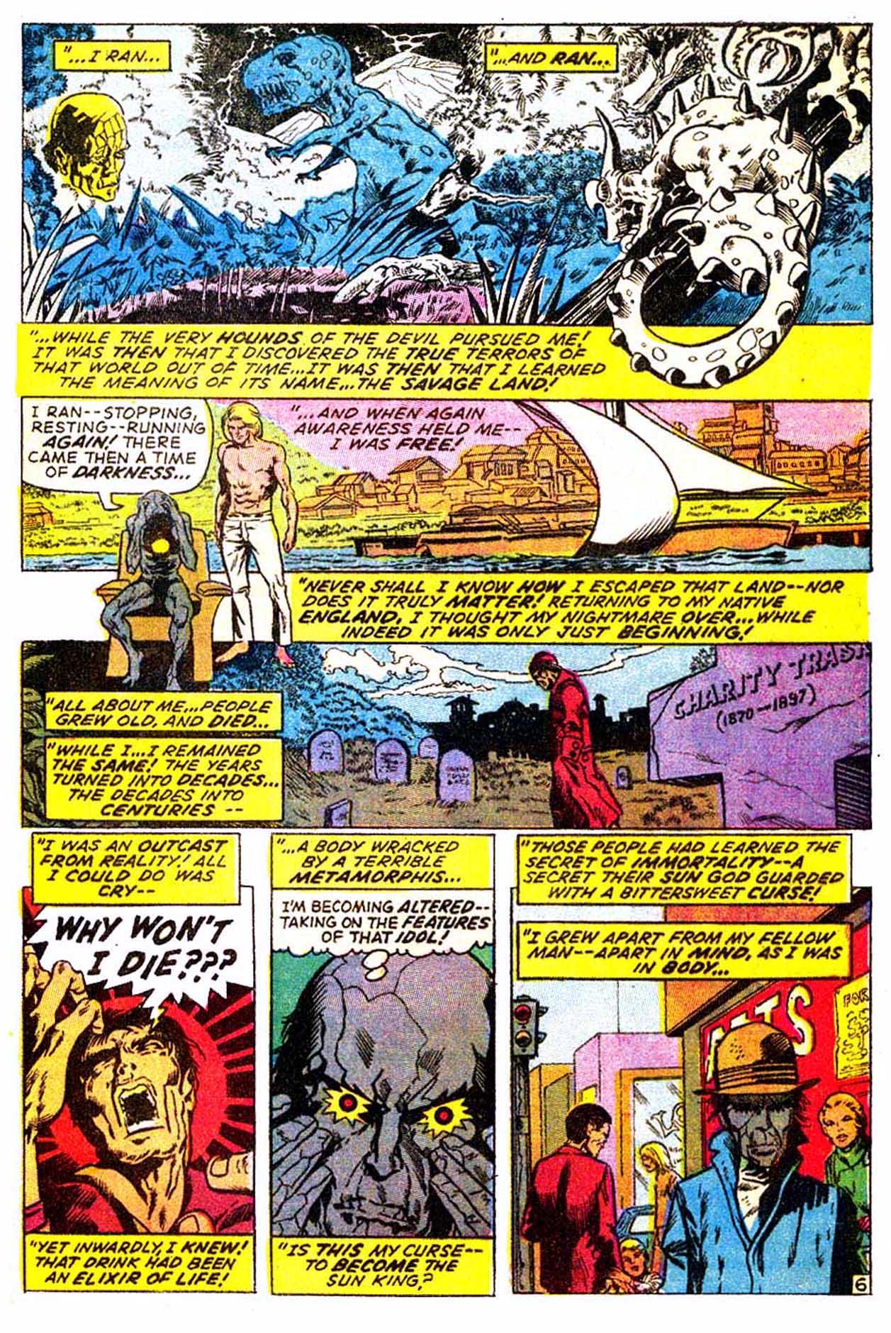 Read online Astonishing Tales (1970) comic -  Issue #3 - 17