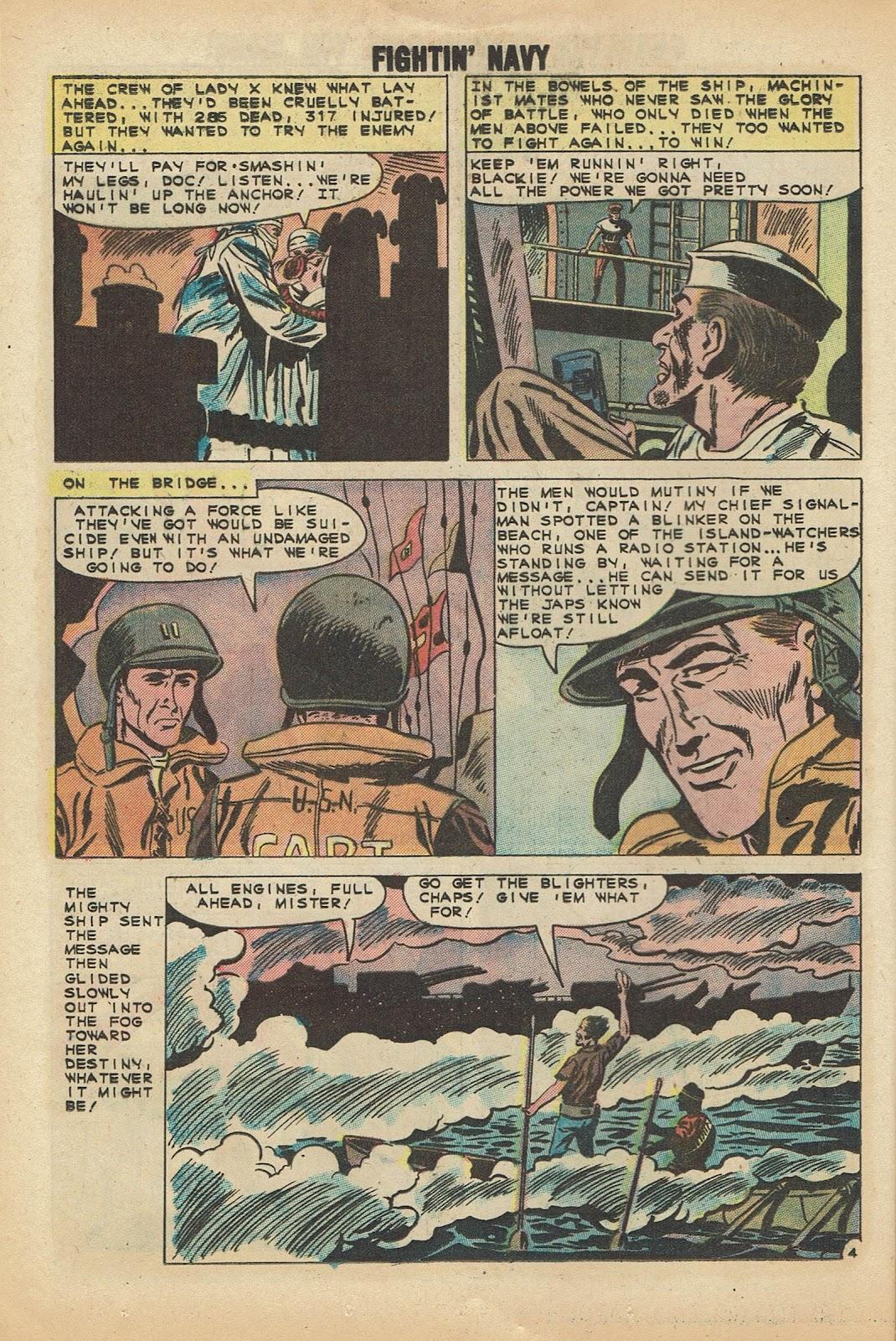 Read online Fightin' Navy comic -  Issue #97 - 12