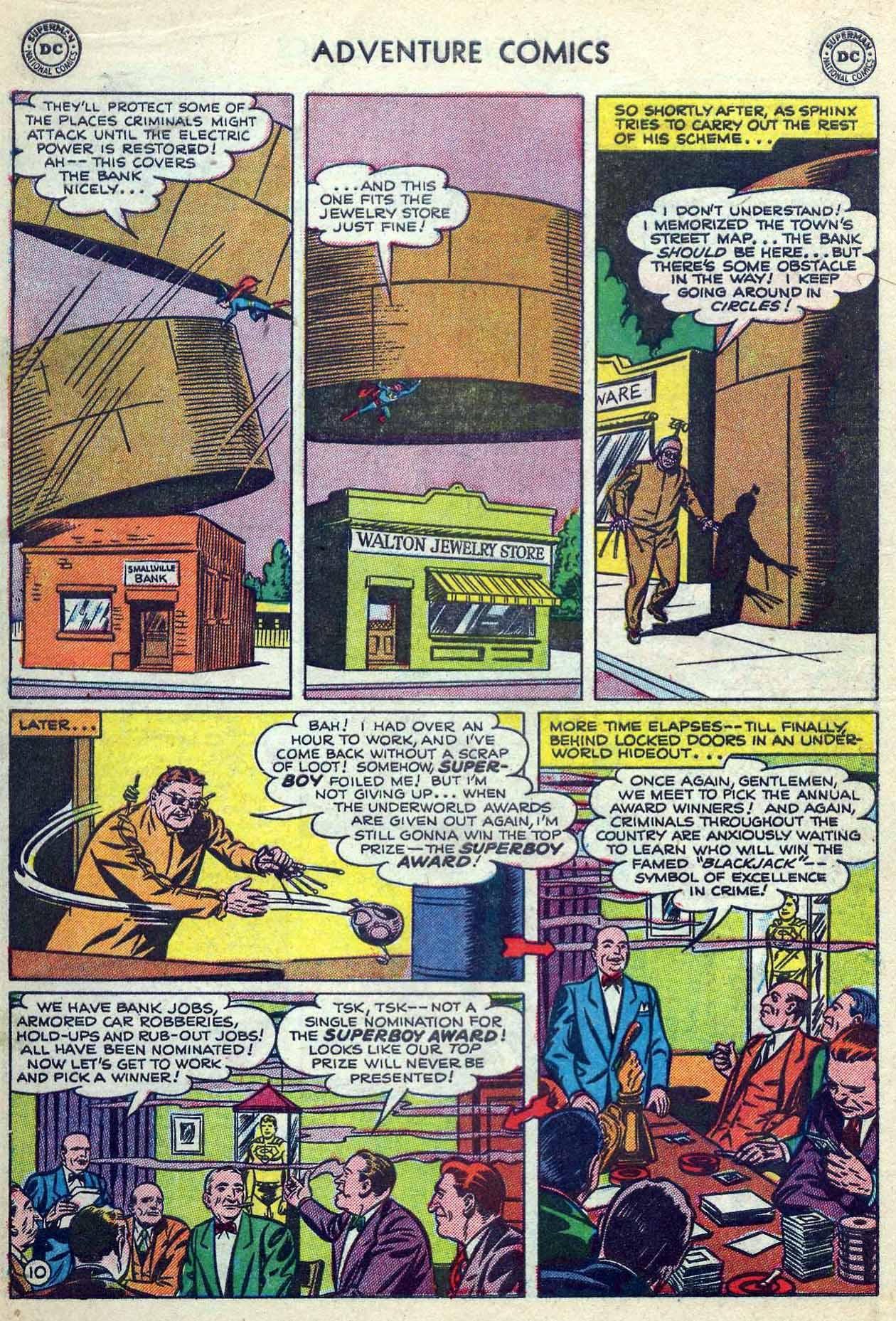 Read online Adventure Comics (1938) comic -  Issue #180 - 12