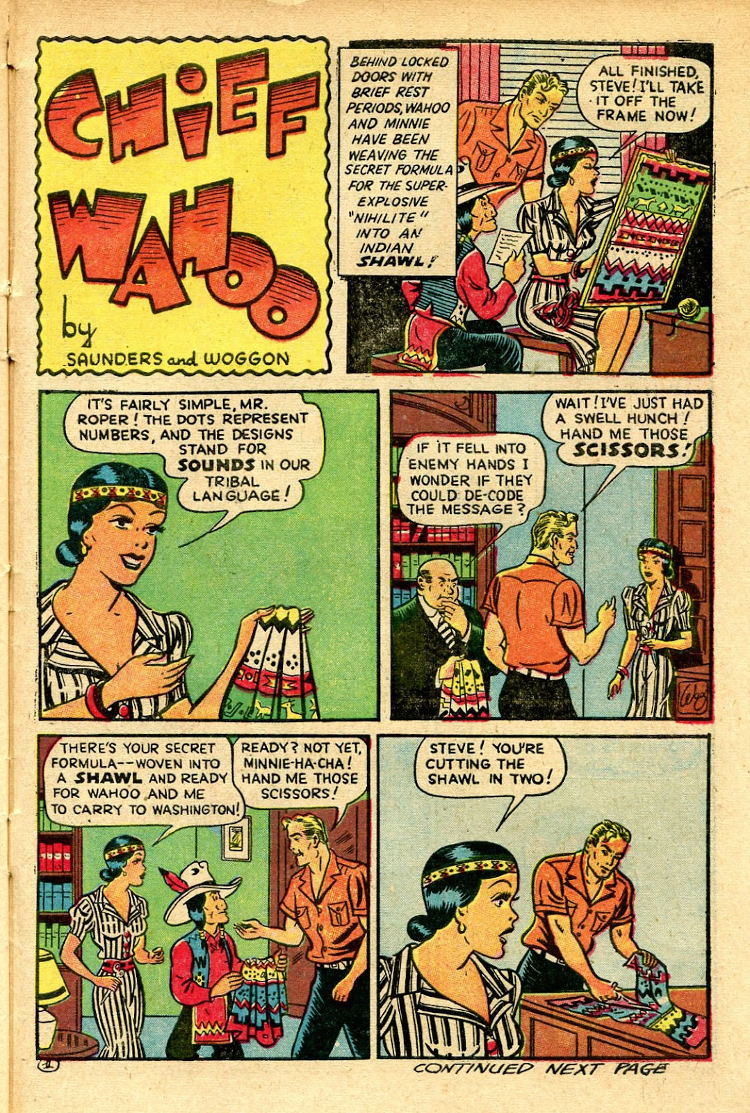 Read online Famous Funnies comic -  Issue #129 - 41