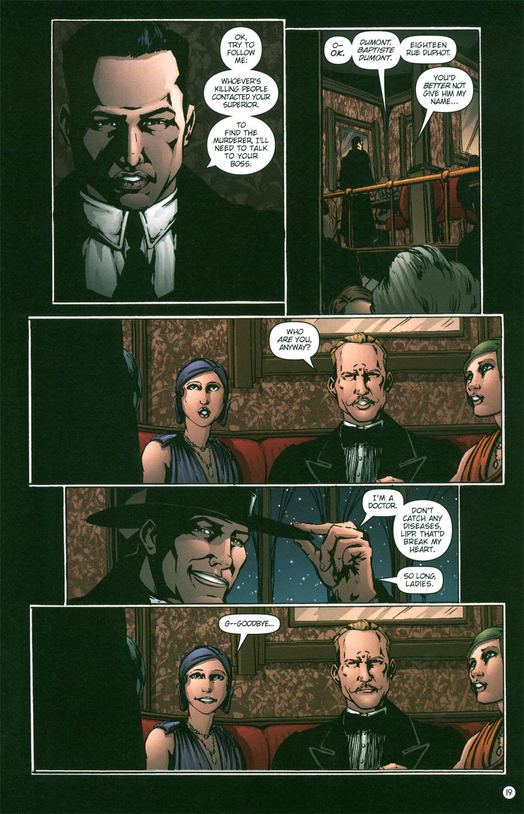 Read online Rex Mundi comic -  Issue #3 - 21