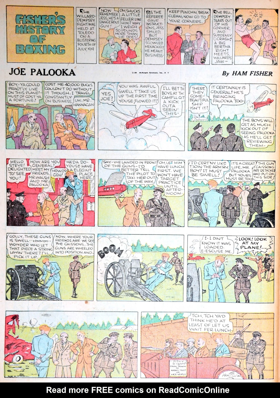 Read online Famous Funnies comic -  Issue #13 - 63