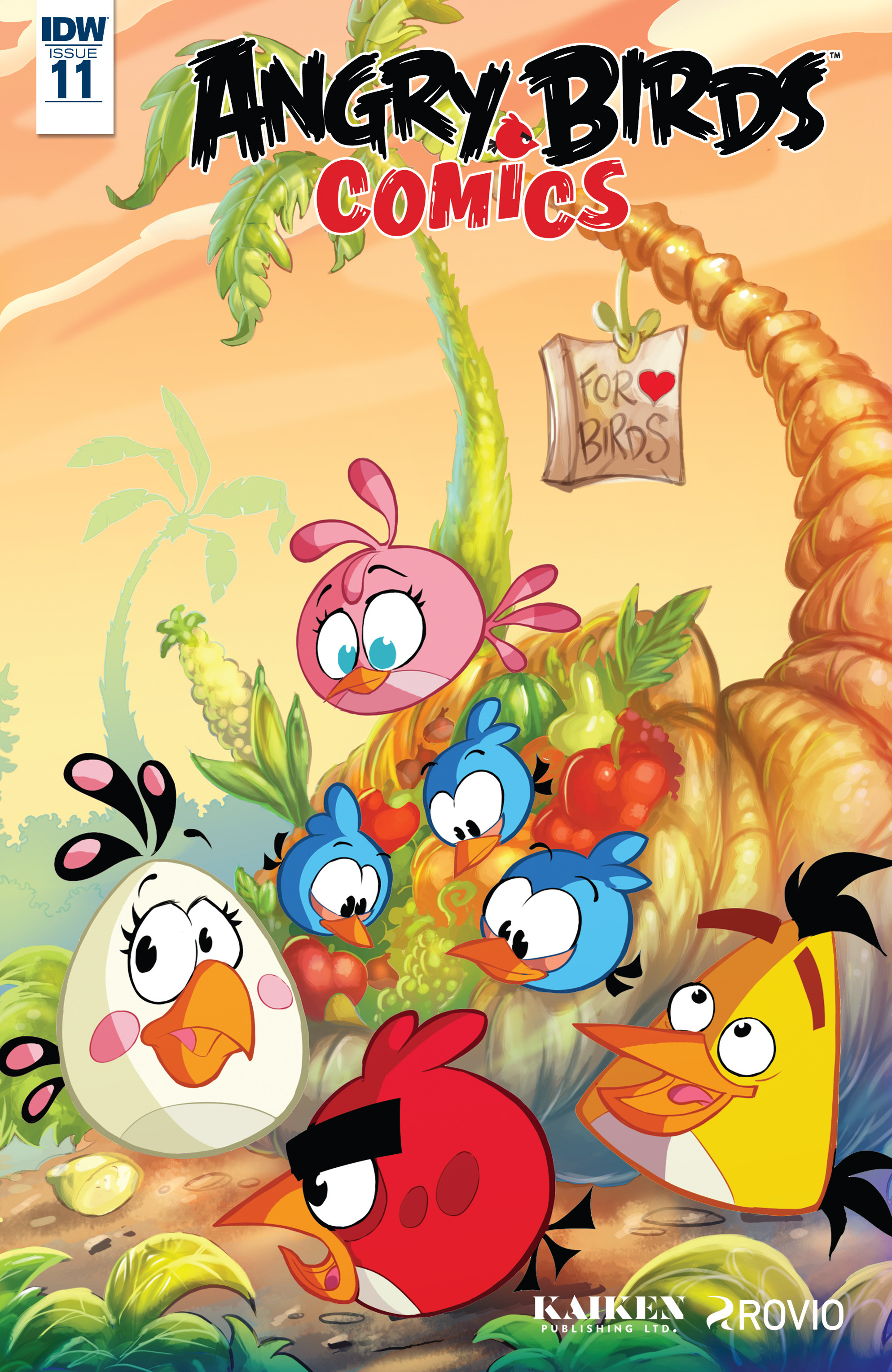Read online Angry Birds Comics (2016) comic -  Issue #11 - 1
