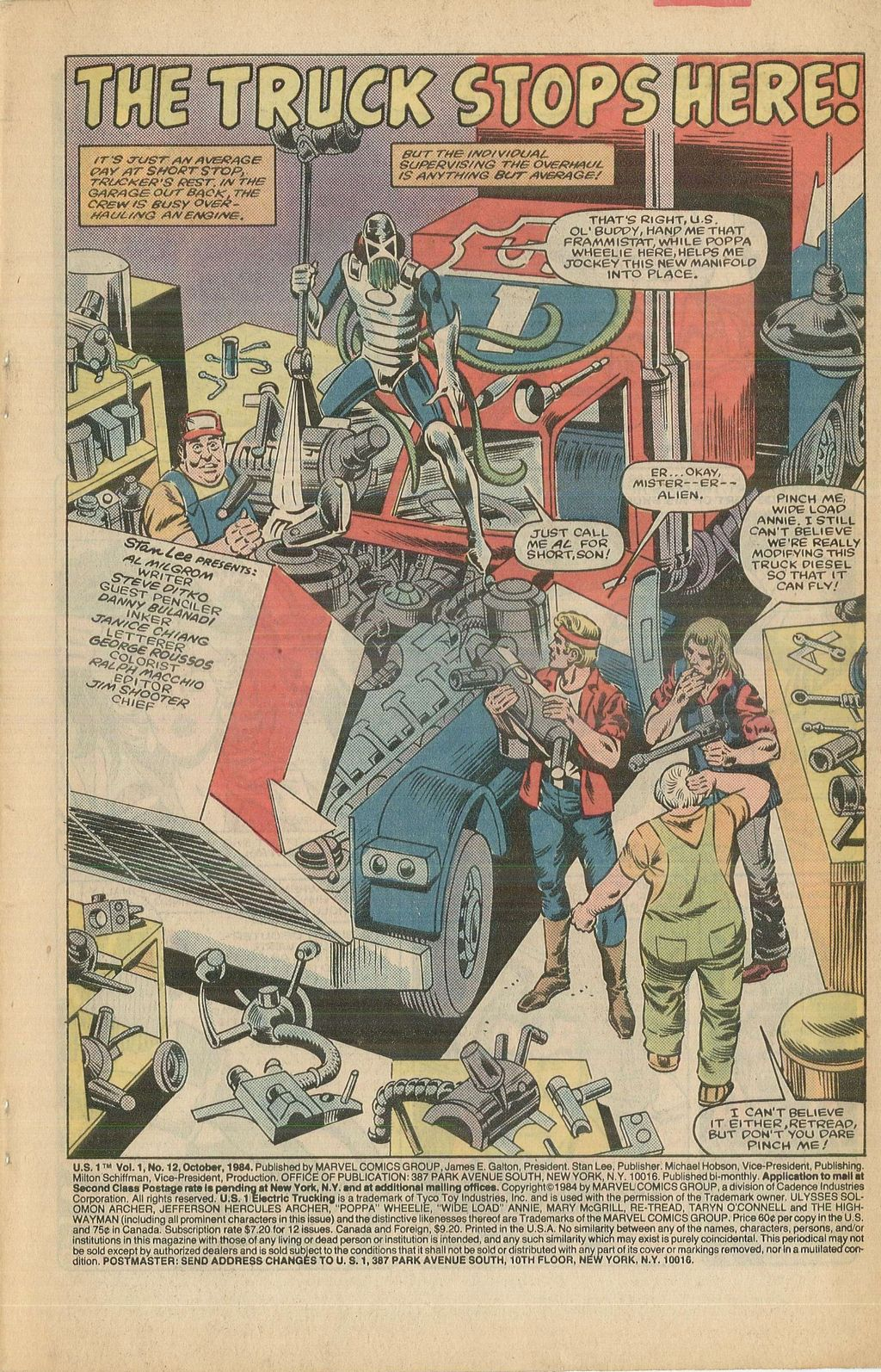 Read online U.S. 1 comic -  Issue #12 - 3