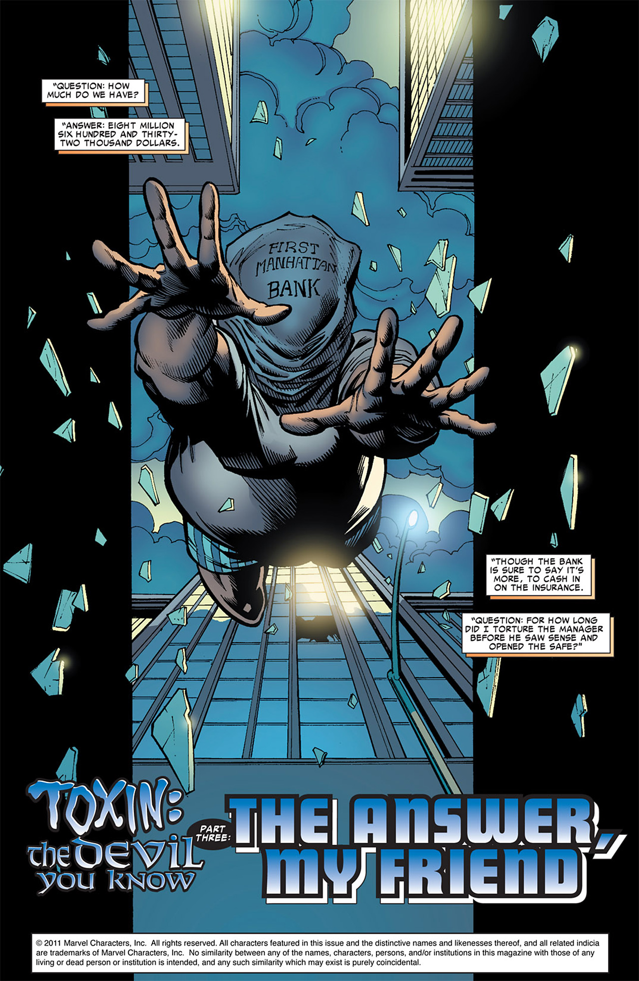 Read online Toxin comic -  Issue #3 - 2