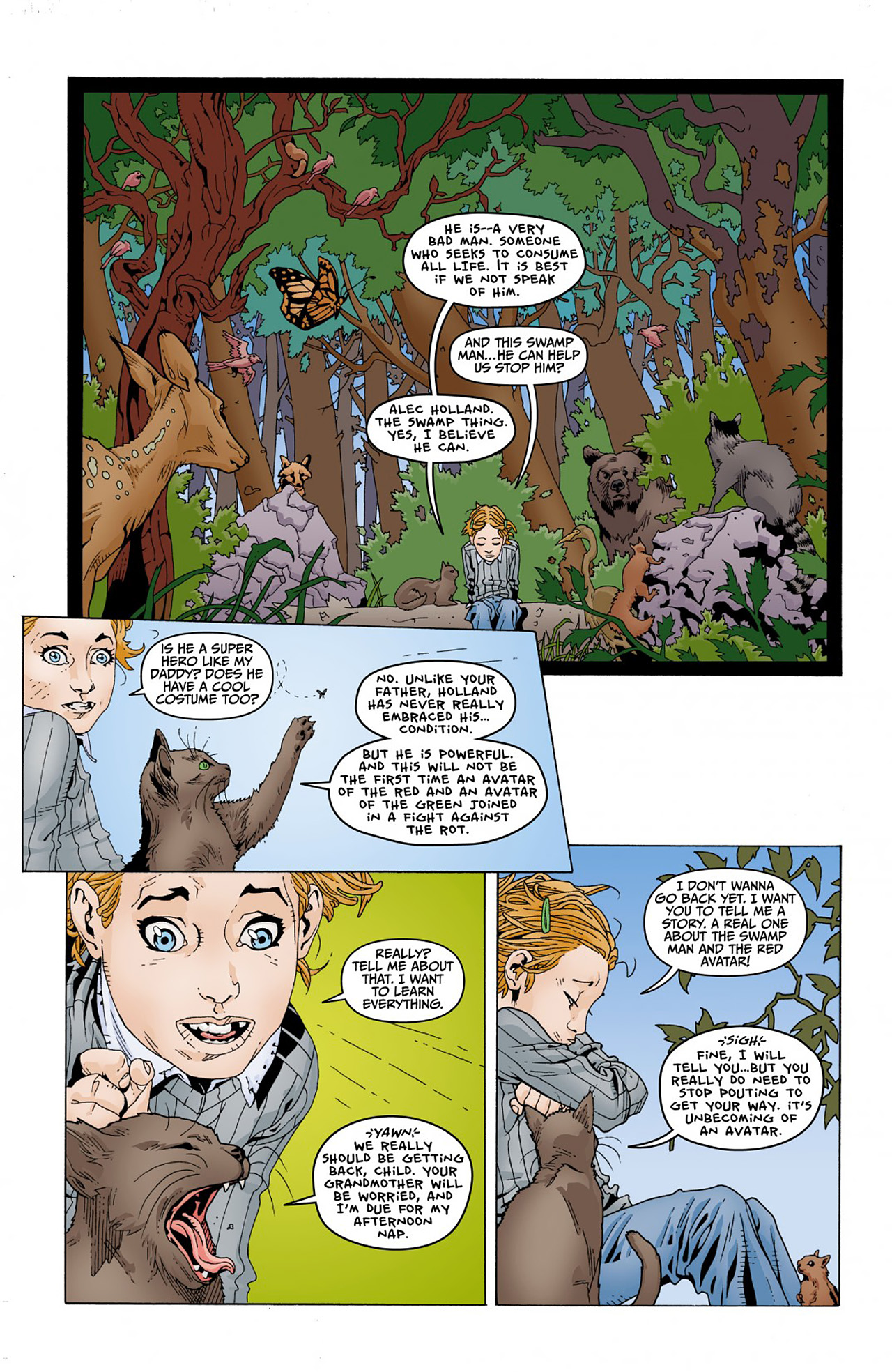 Read online Animal Man (2011) comic -  Issue #Animal Man (2011) _Annual 1 - 4
