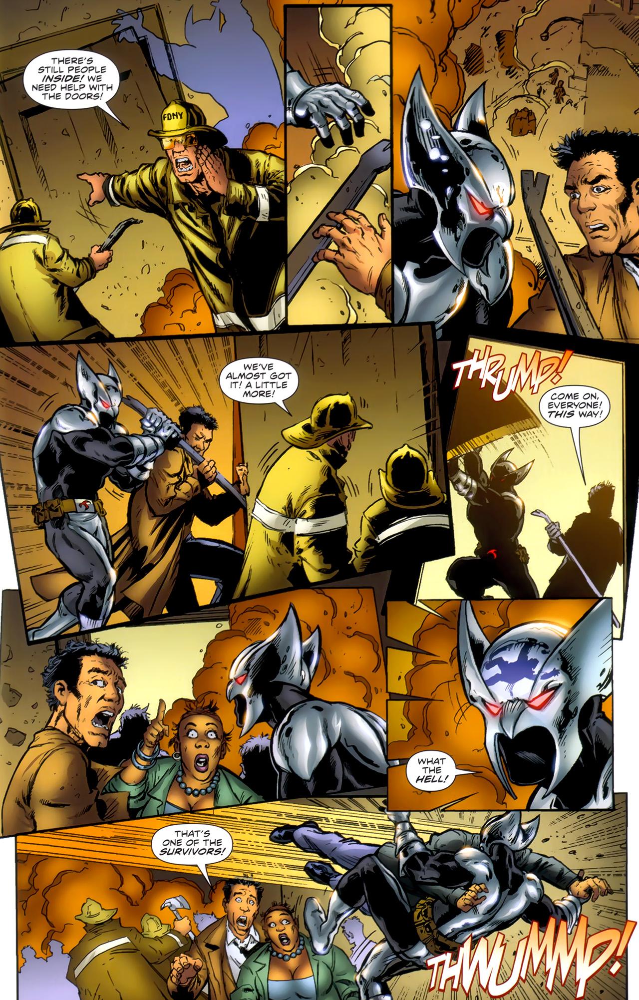 Read online ShadowHawk (2010) comic -  Issue #1 - 7