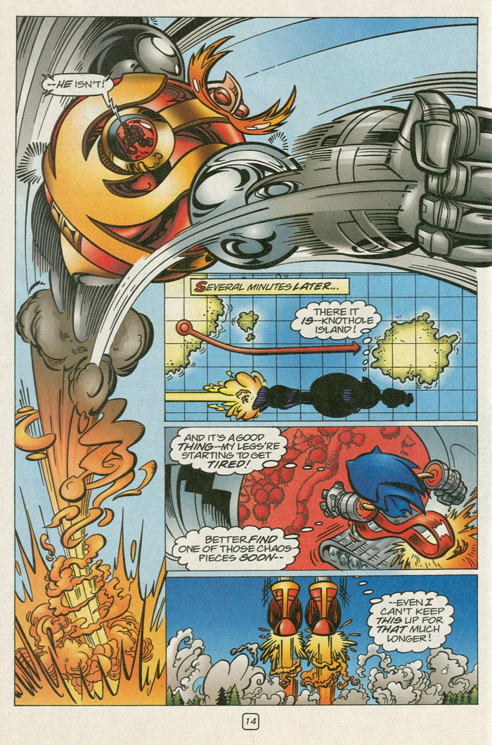 Read online Sonic Super Special comic -  Issue #12 - Sonic and Knuckles visa versa - 31
