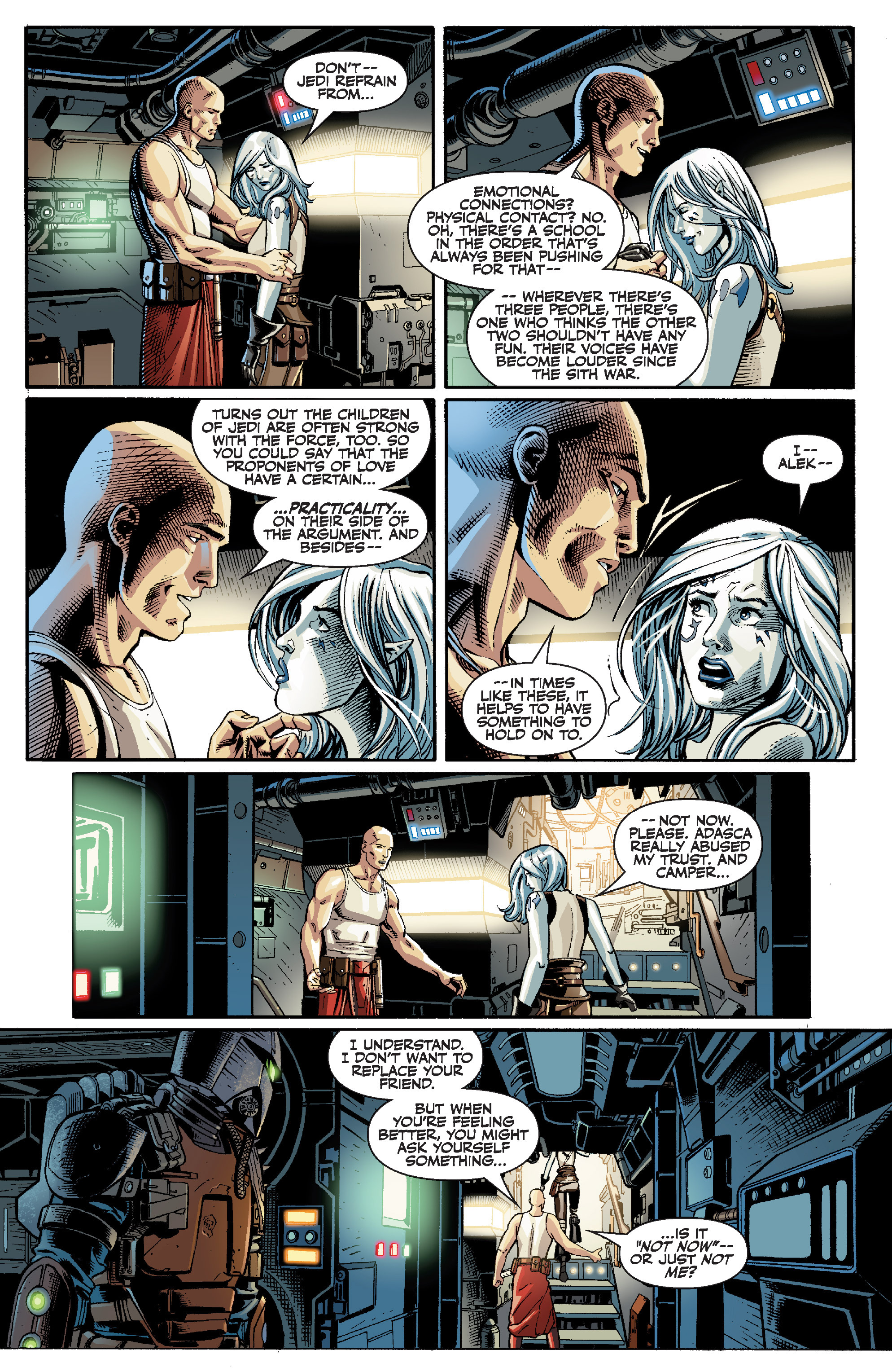 Read online Star Wars Omnibus comic -  Issue # Vol. 32 - 116