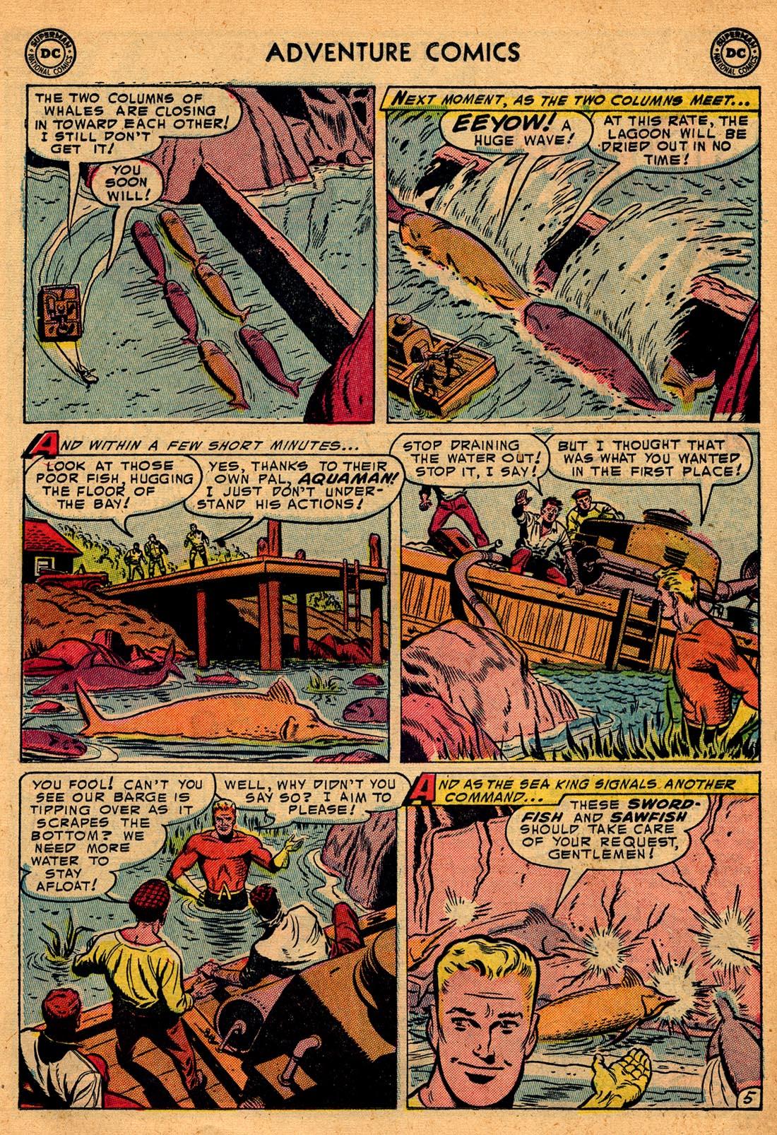 Read online Adventure Comics (1938) comic -  Issue #204 - 21