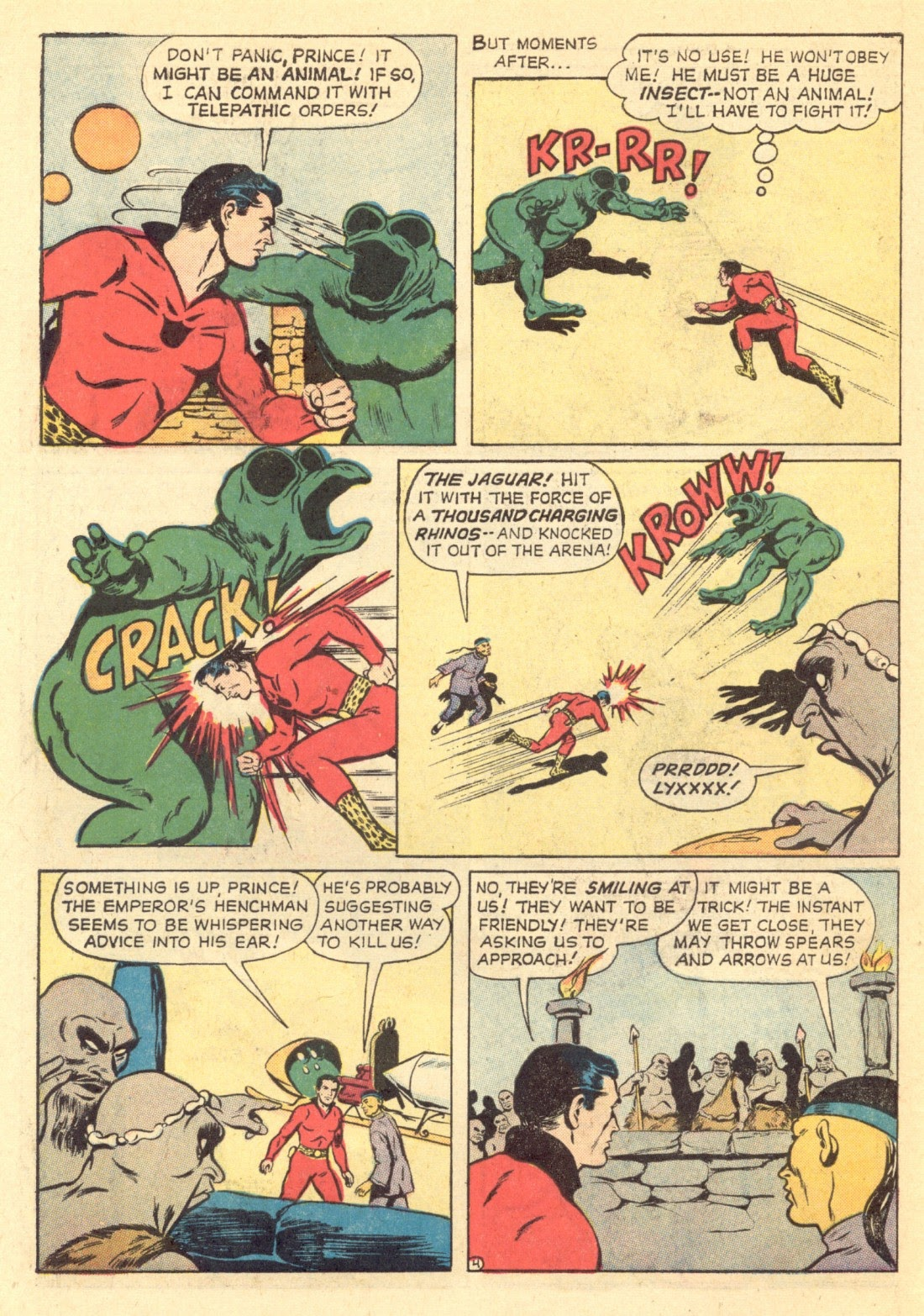 Adventures of the Jaguar issue 4 - Page 6