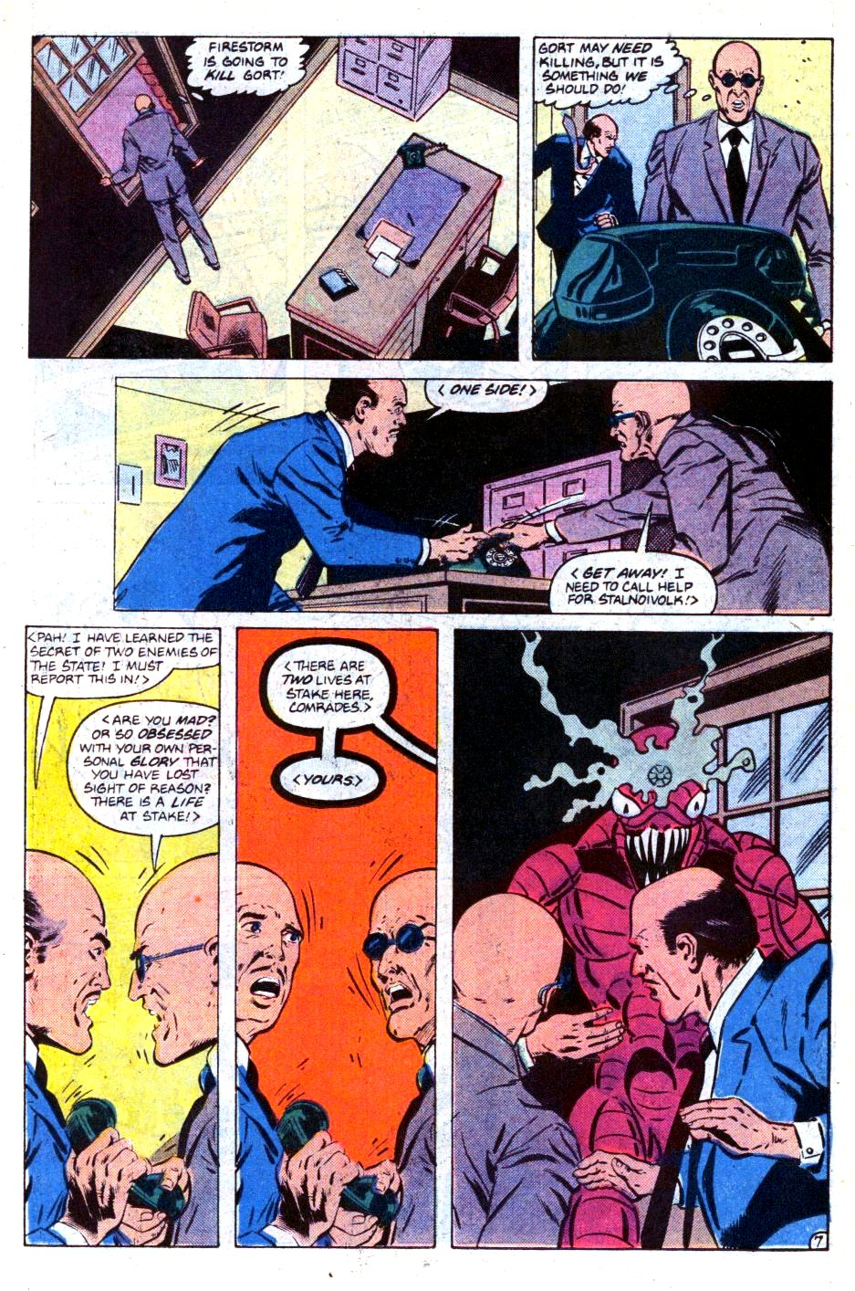 Firestorm, the Nuclear Man issue 73 - Page 8