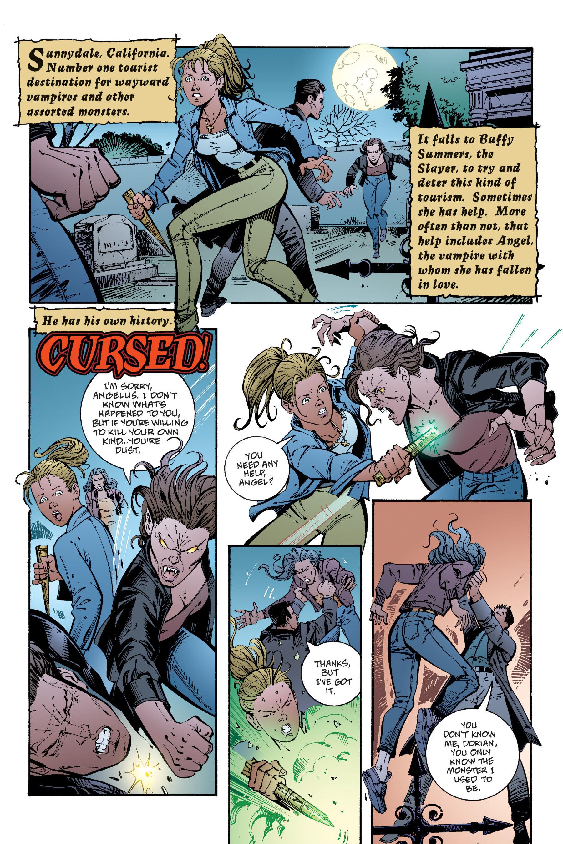 Read online Buffy the Vampire Slayer: Omnibus comic -  Issue # TPB 4 - 231