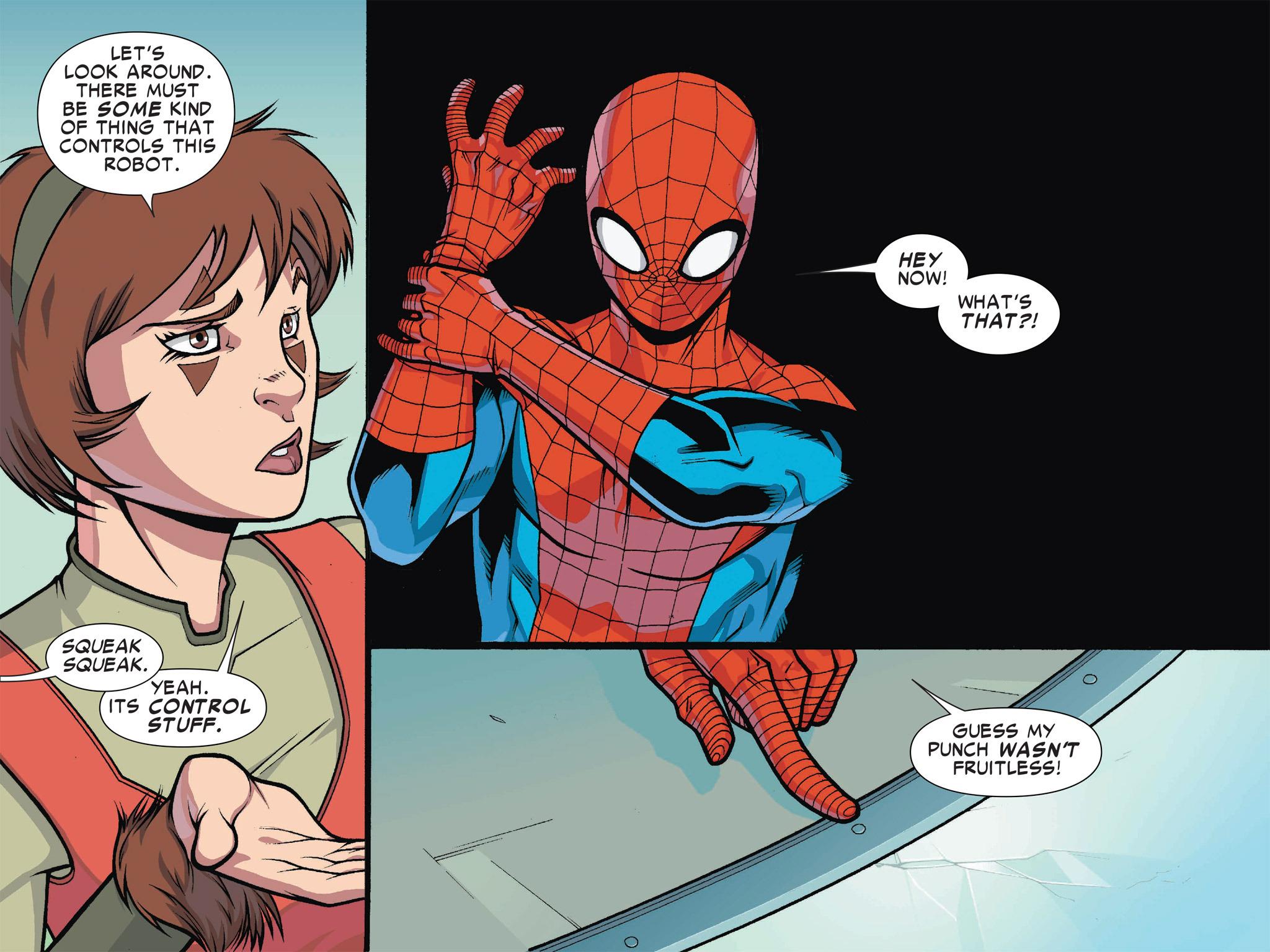 Read online Ultimate Spider-Man (Infinite Comics) (2016) comic -  Issue #1 - 23