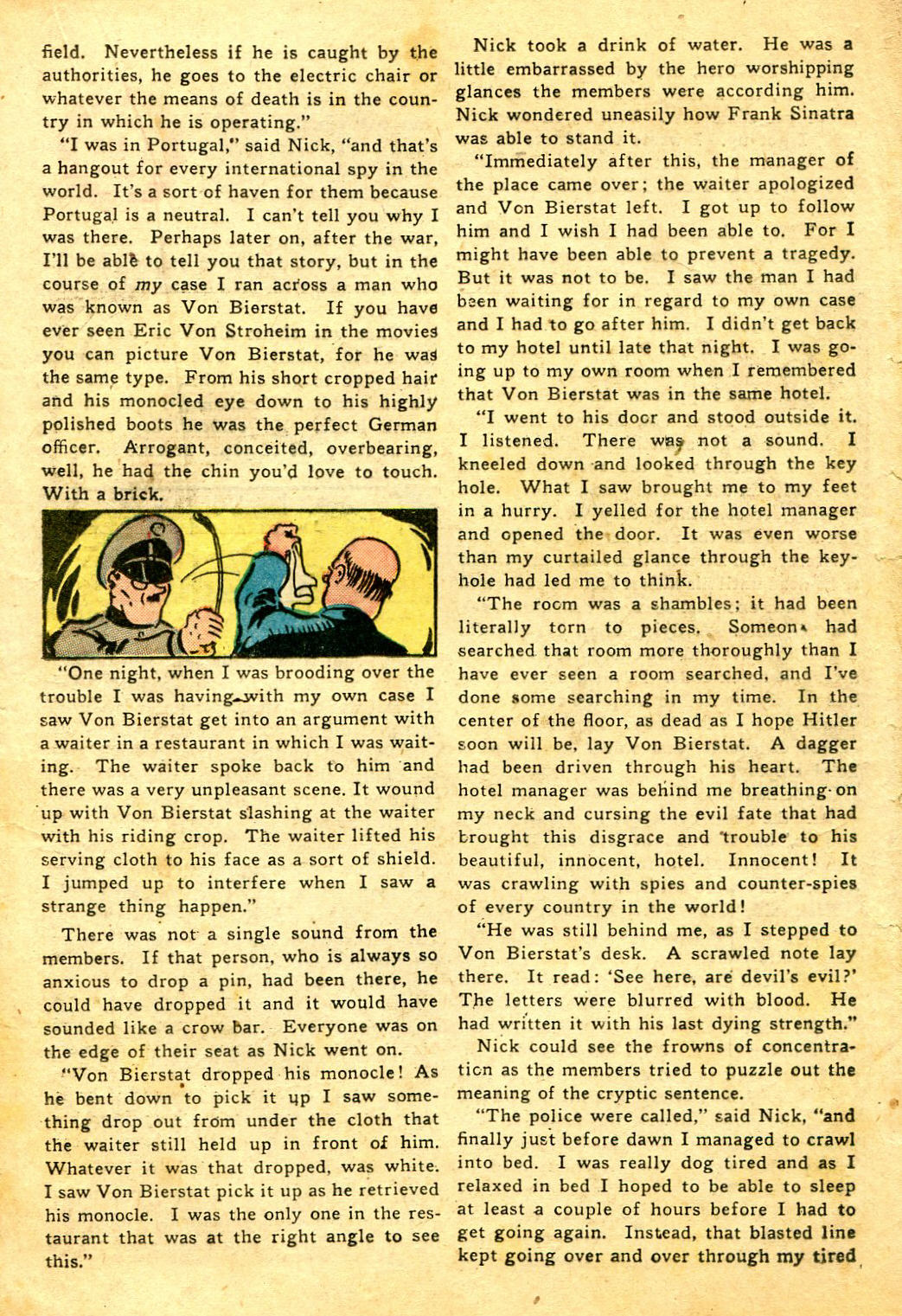 Read online Shadow Comics comic -  Issue #43 - 33