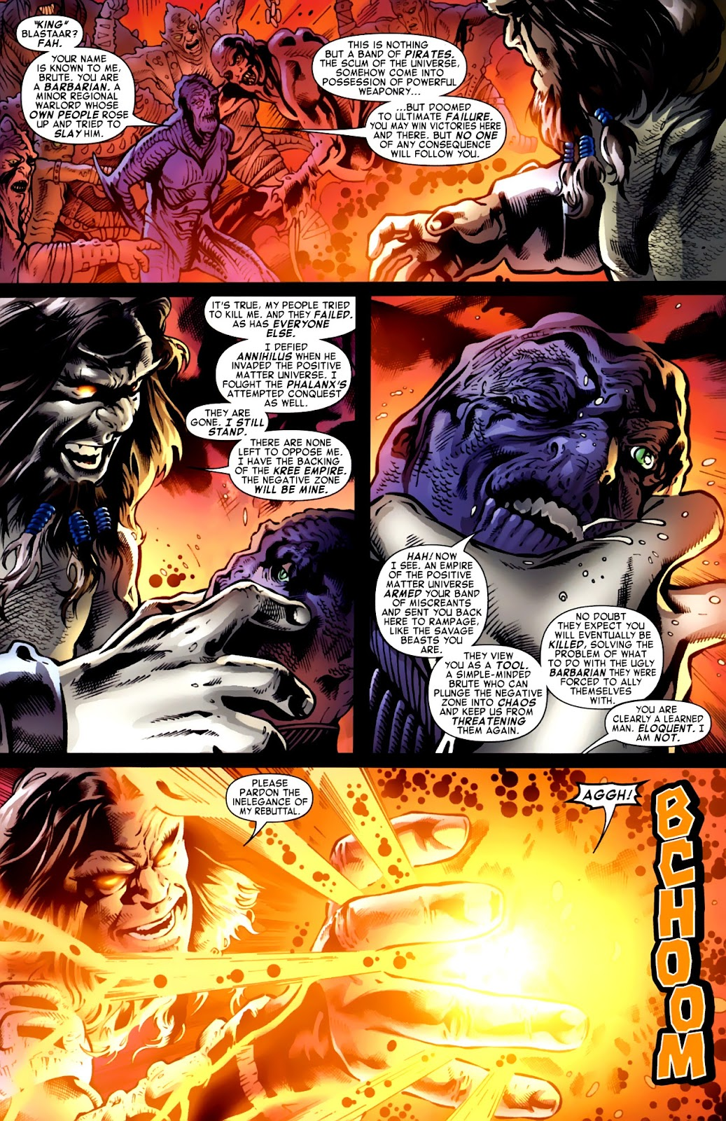 War of Kings: Warriors Issue #1 #1 - English 21