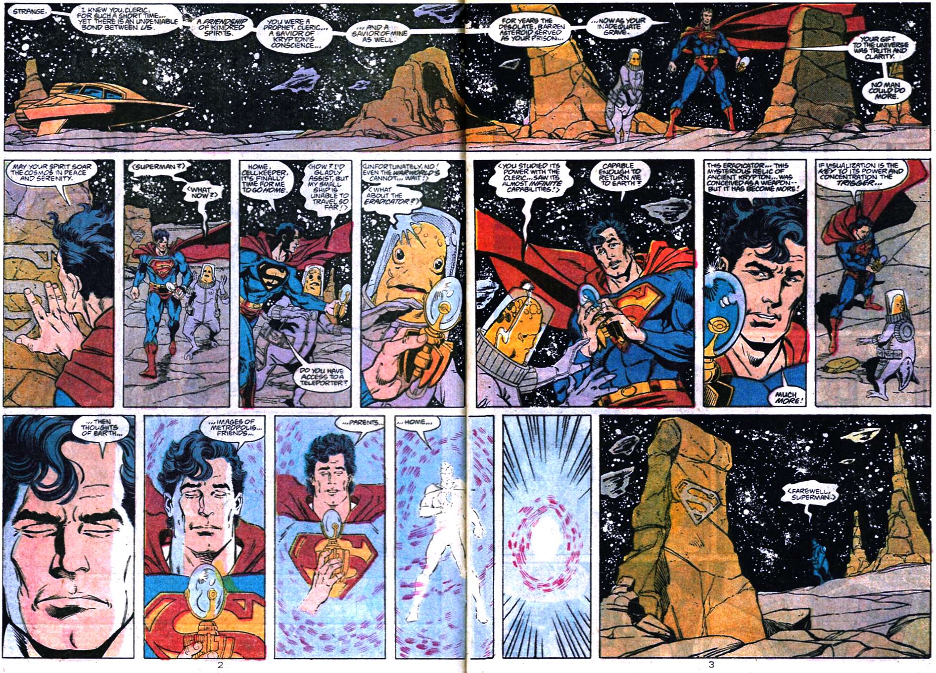 Read online Adventures of Superman (1987) comic -  Issue #456 - 3