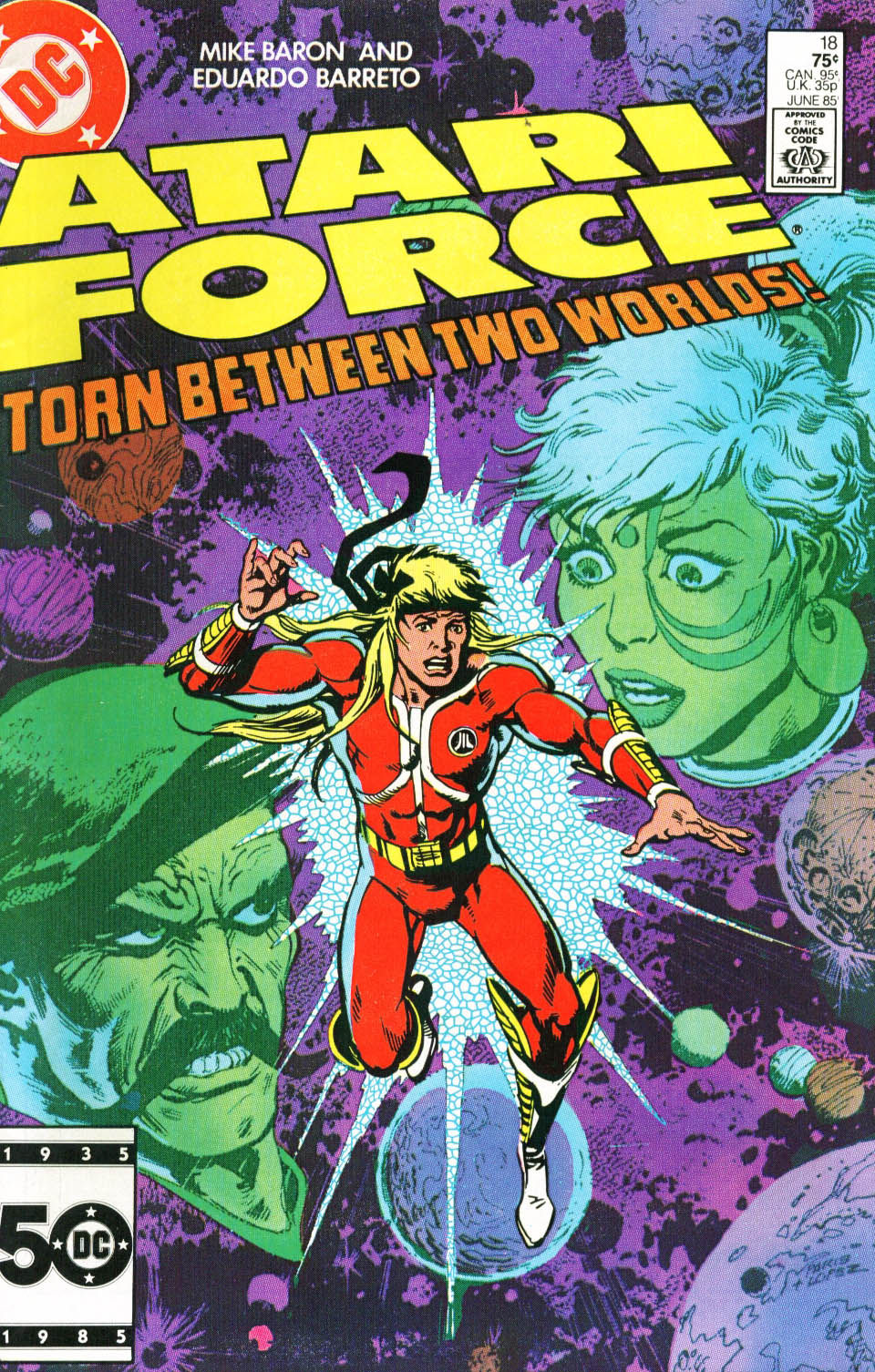 Read online Atari Force (1984) comic -  Issue #18 - 2