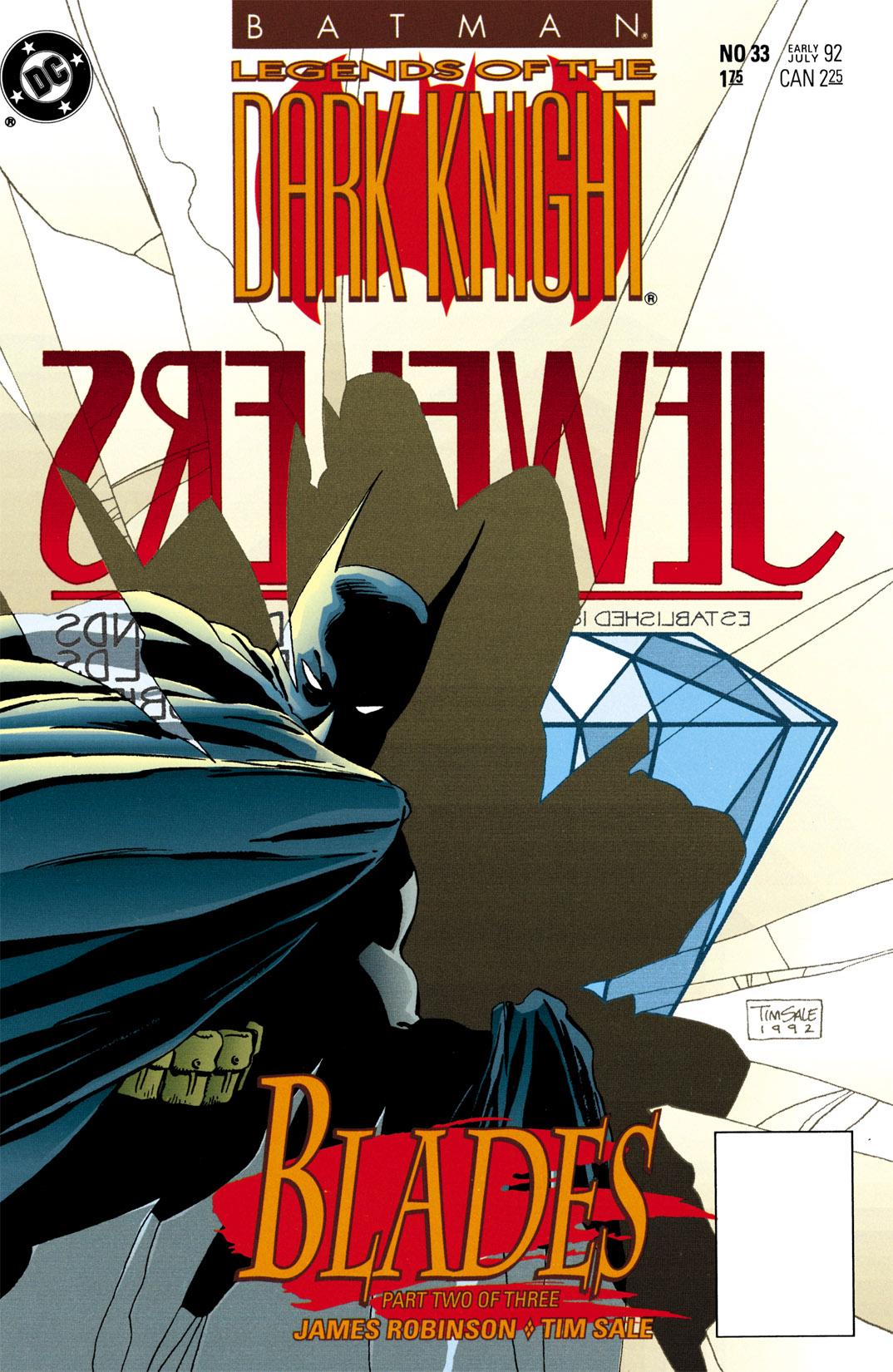 Batman: Legends of the Dark Knight 33 Page 1