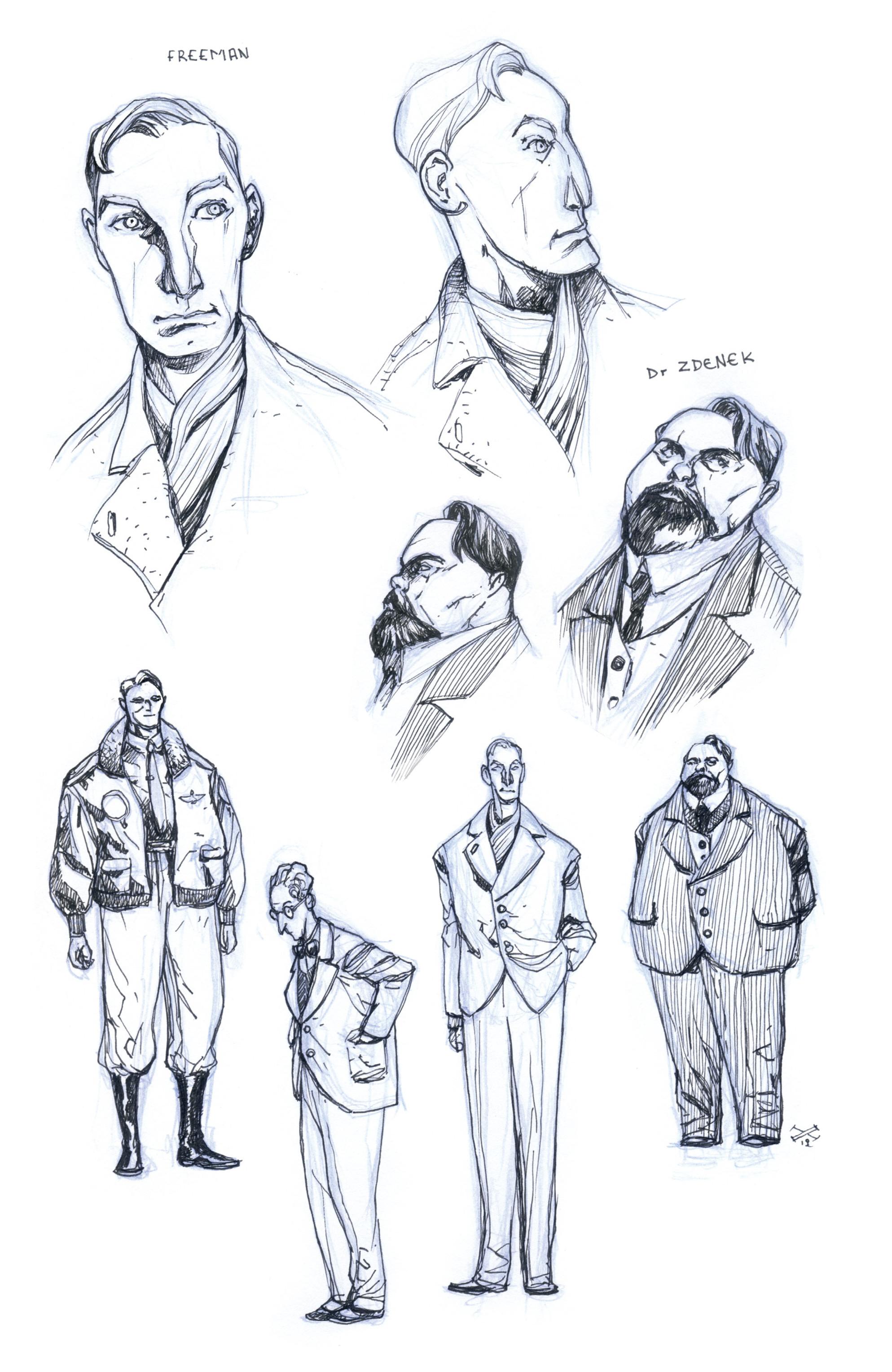 Read online B.P.R.D.: 1948 comic -  Issue # TPB - 128