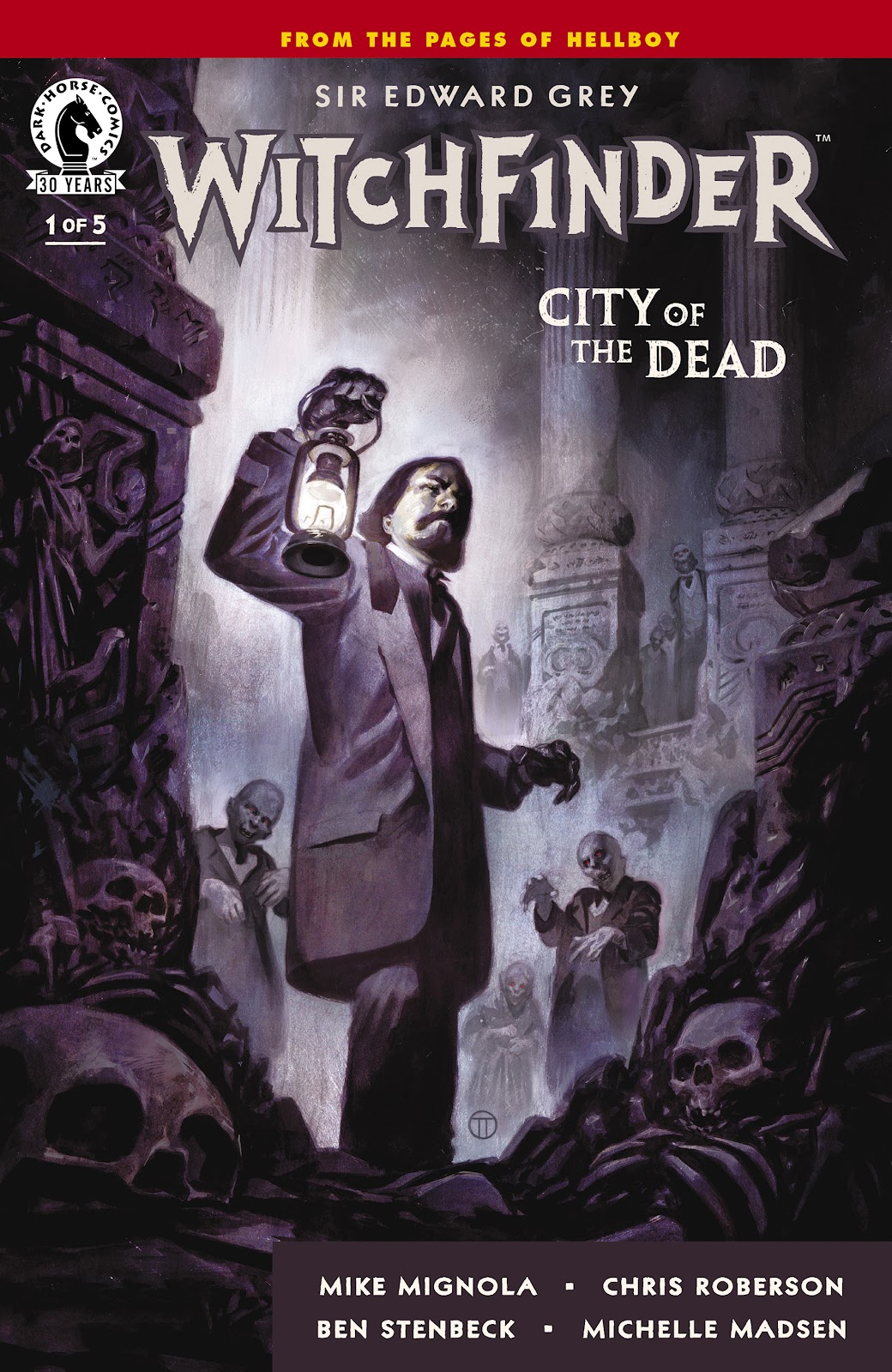 Witchfinder: City of the Dead 1 Page 1