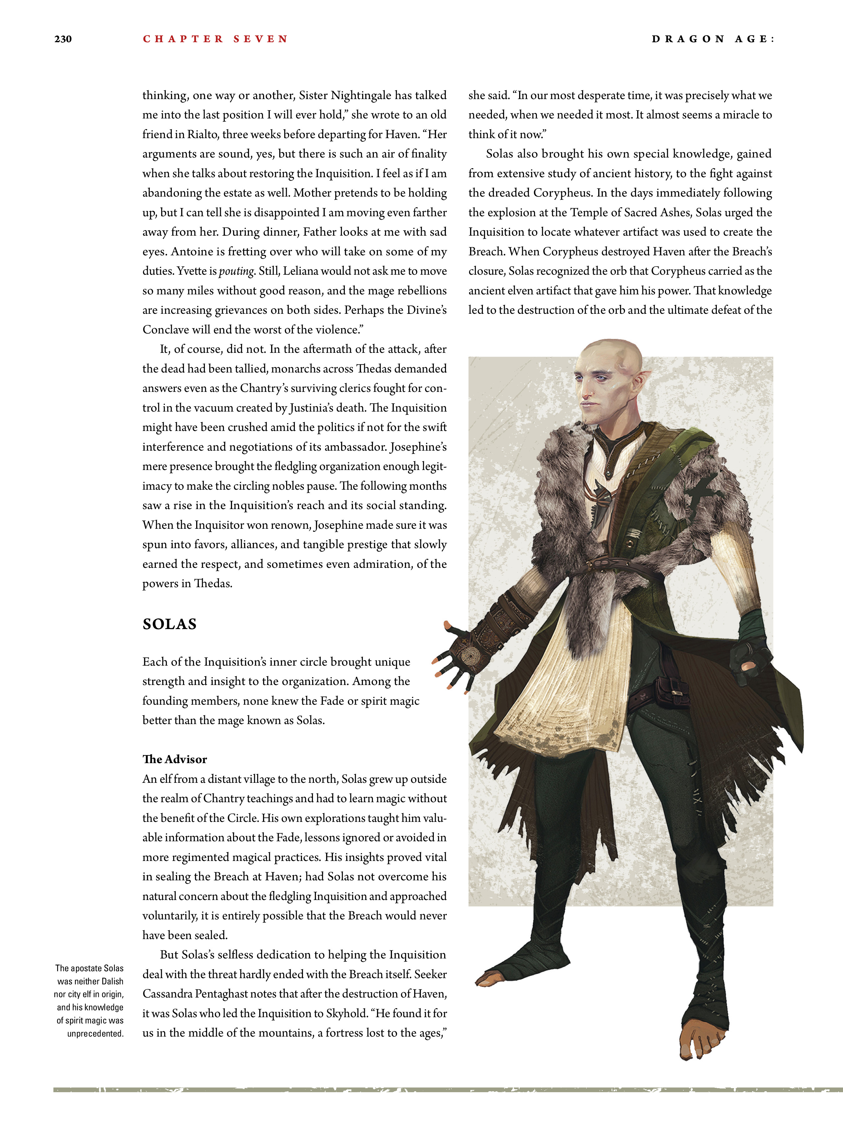 Read online Dragon Age: The World of Thedas comic -  Issue # TPB 2 - 225