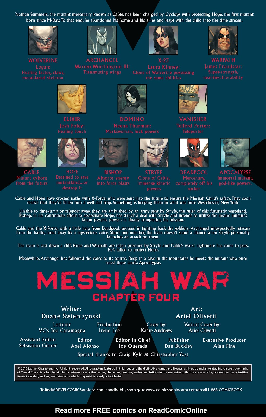 Read online X-Force/Cable: Messiah War comic -  Issue # _TPB (Part 2) - 42