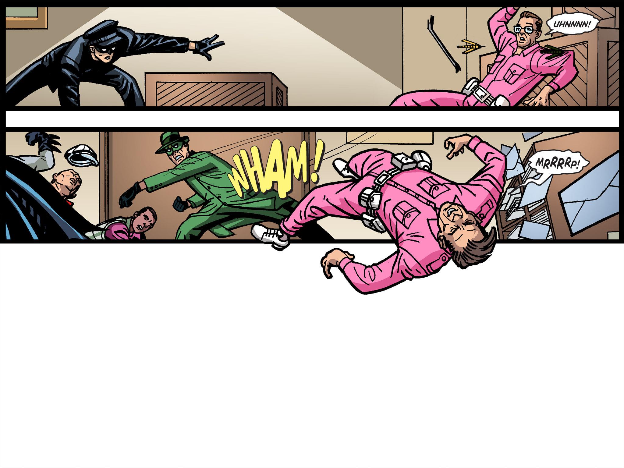 Read online Batman '66 Meets the Green Hornet [II] comic -  Issue #4 - 108
