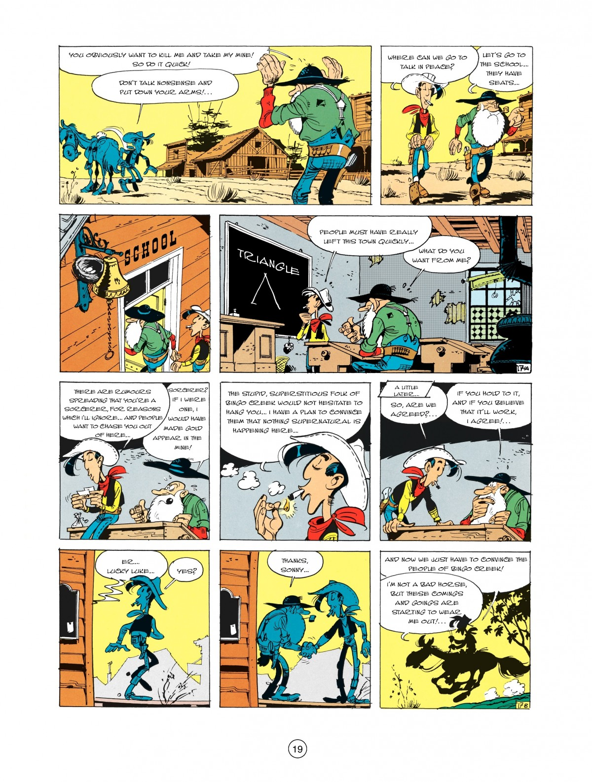 Read online A Lucky Luke Adventure comic -  Issue #2 - 21