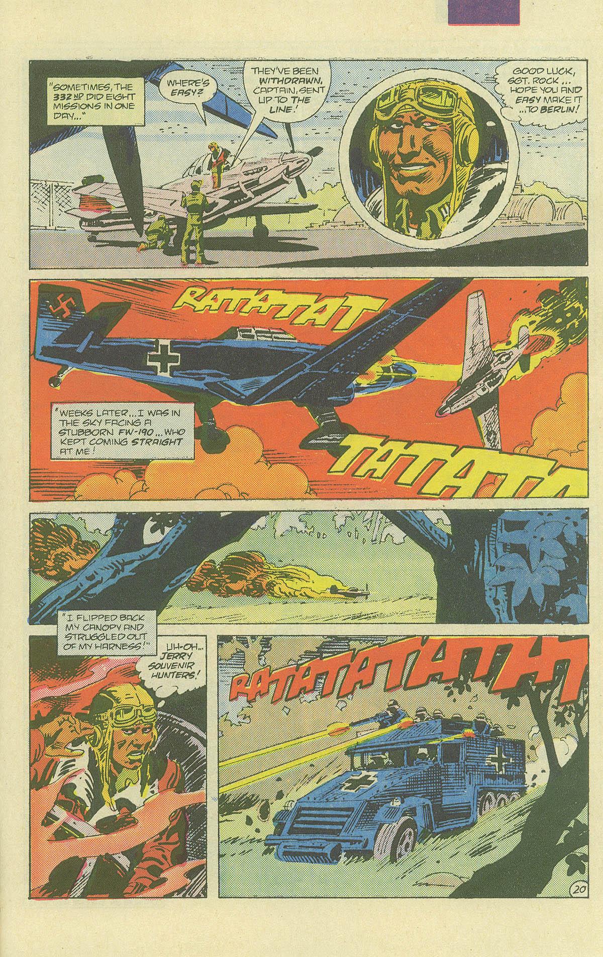 Read online Sgt. Rock comic -  Issue #406 - 26