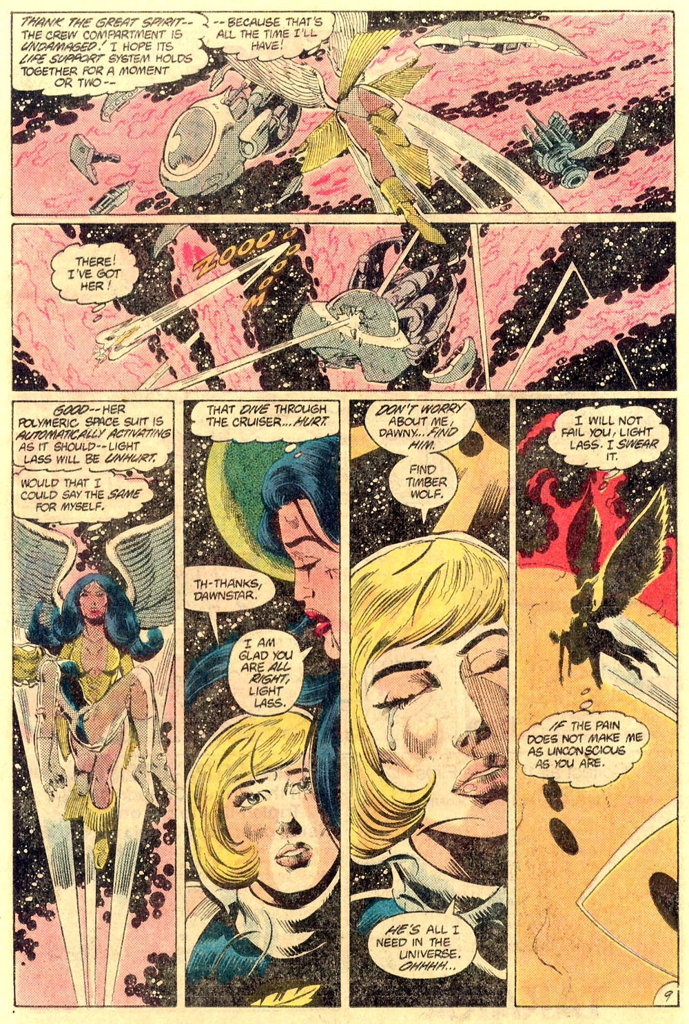 Legion of Super-Heroes (1980) 289 Page 9