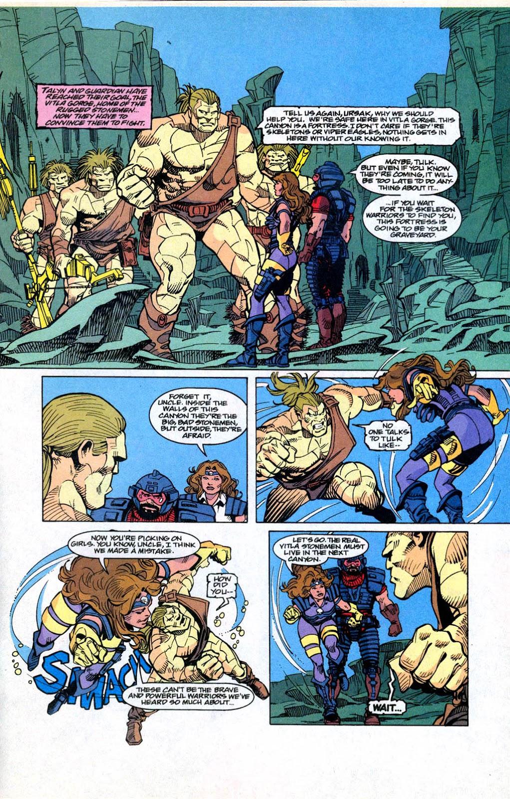 Skeleton Warriors Issue #3 #3 - English 18