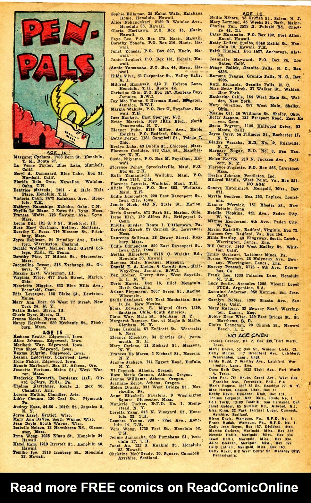 Read online Famous Funnies comic -  Issue #126 - 48