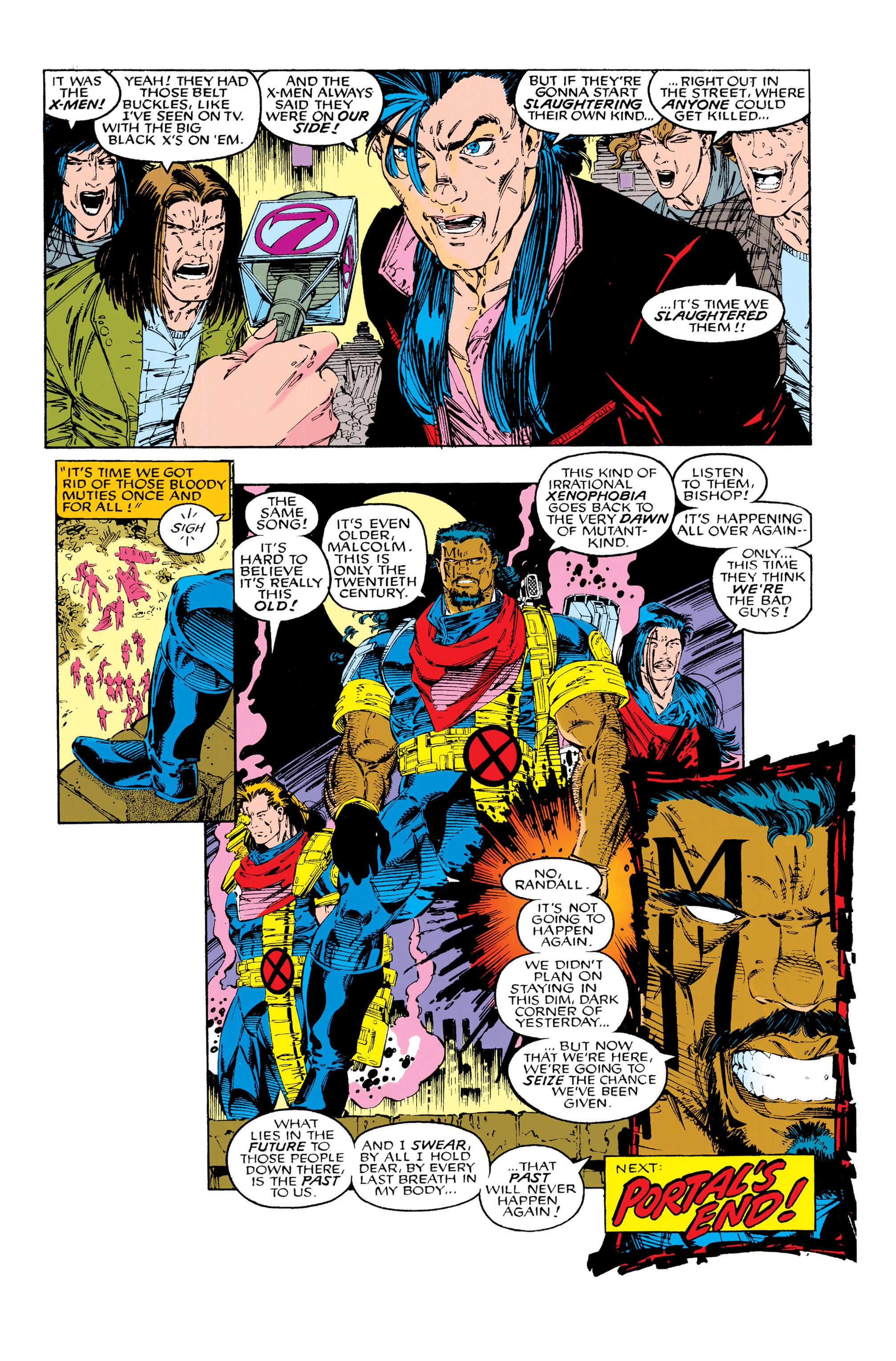 Read online Uncanny X-Men (1963) comic -  Issue #285 - 22