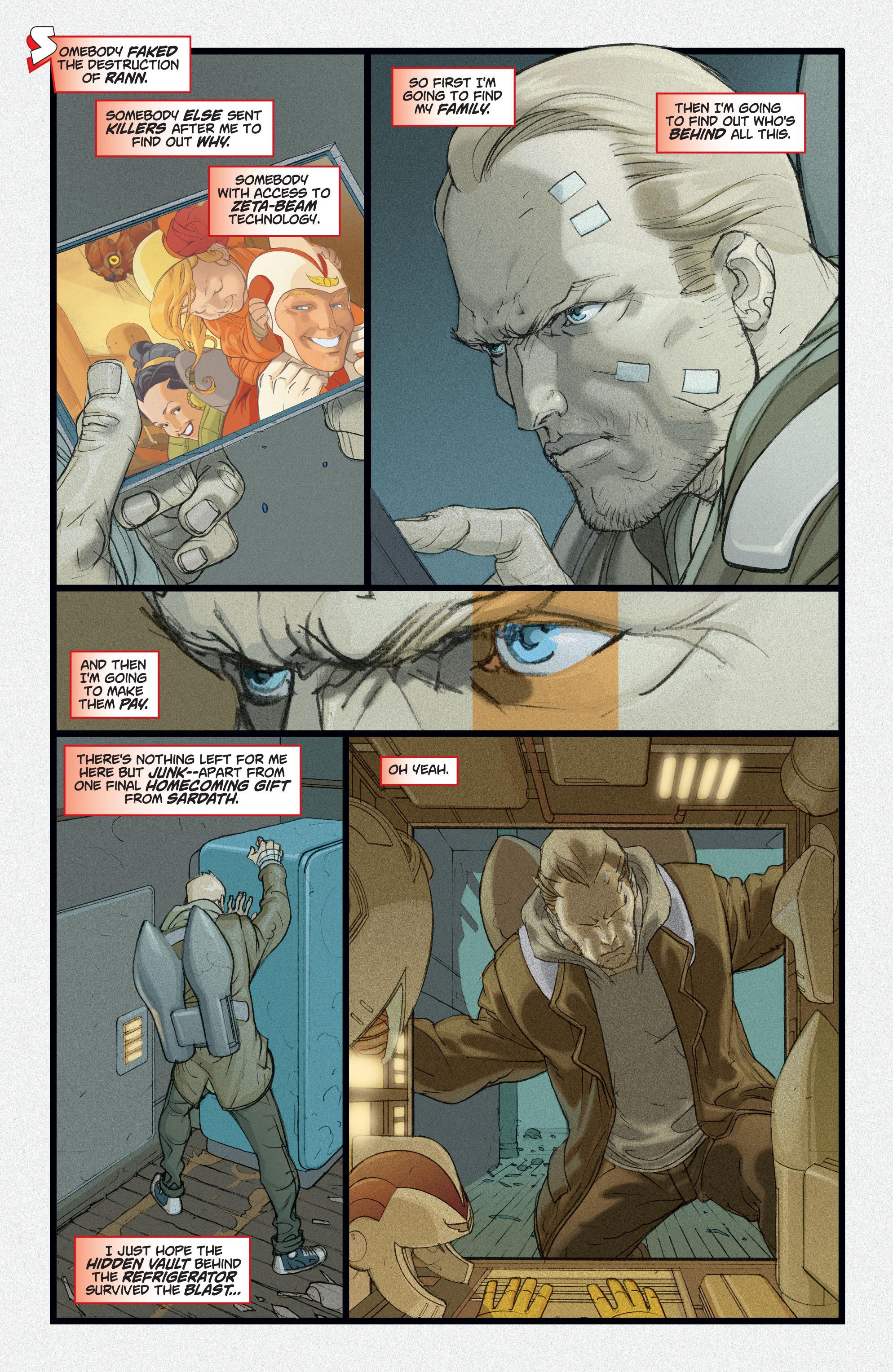 Read online Adam Strange (2004) comic -  Issue #2 - 15